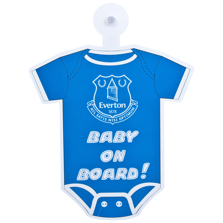 Everton Baby On Board Onesie