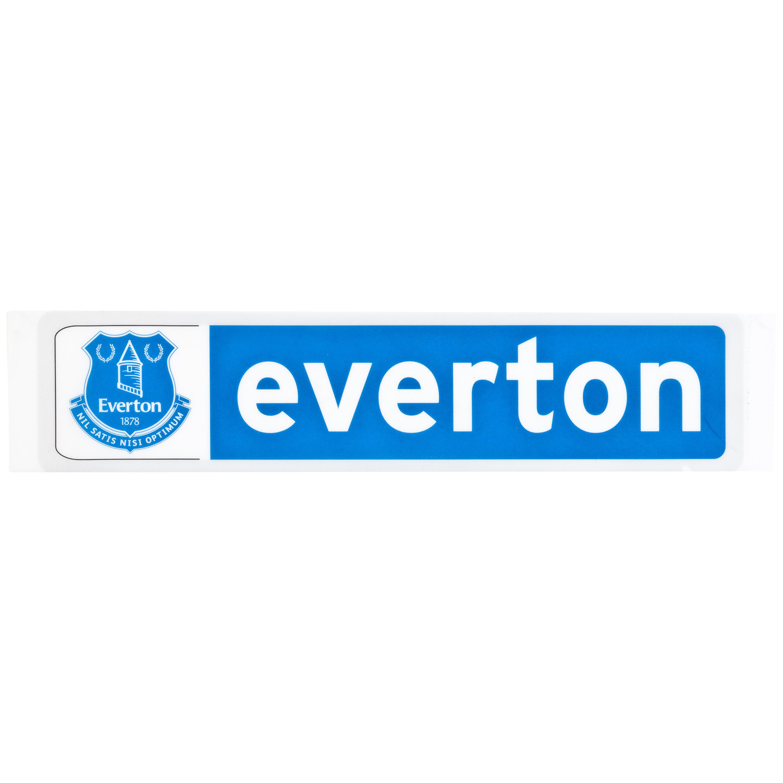 Everton Striker Sticker