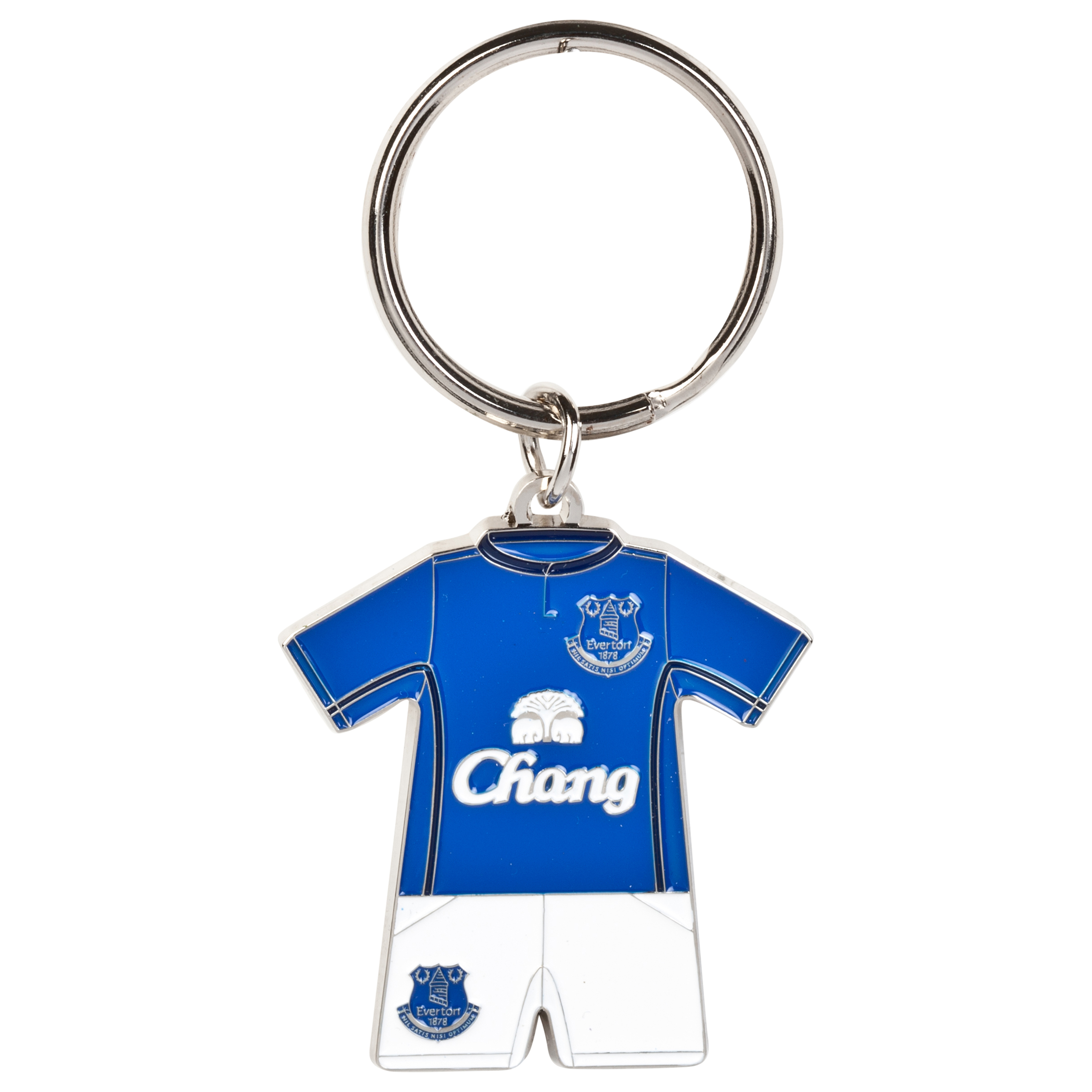 Everton Home Kit Keyring 14/15