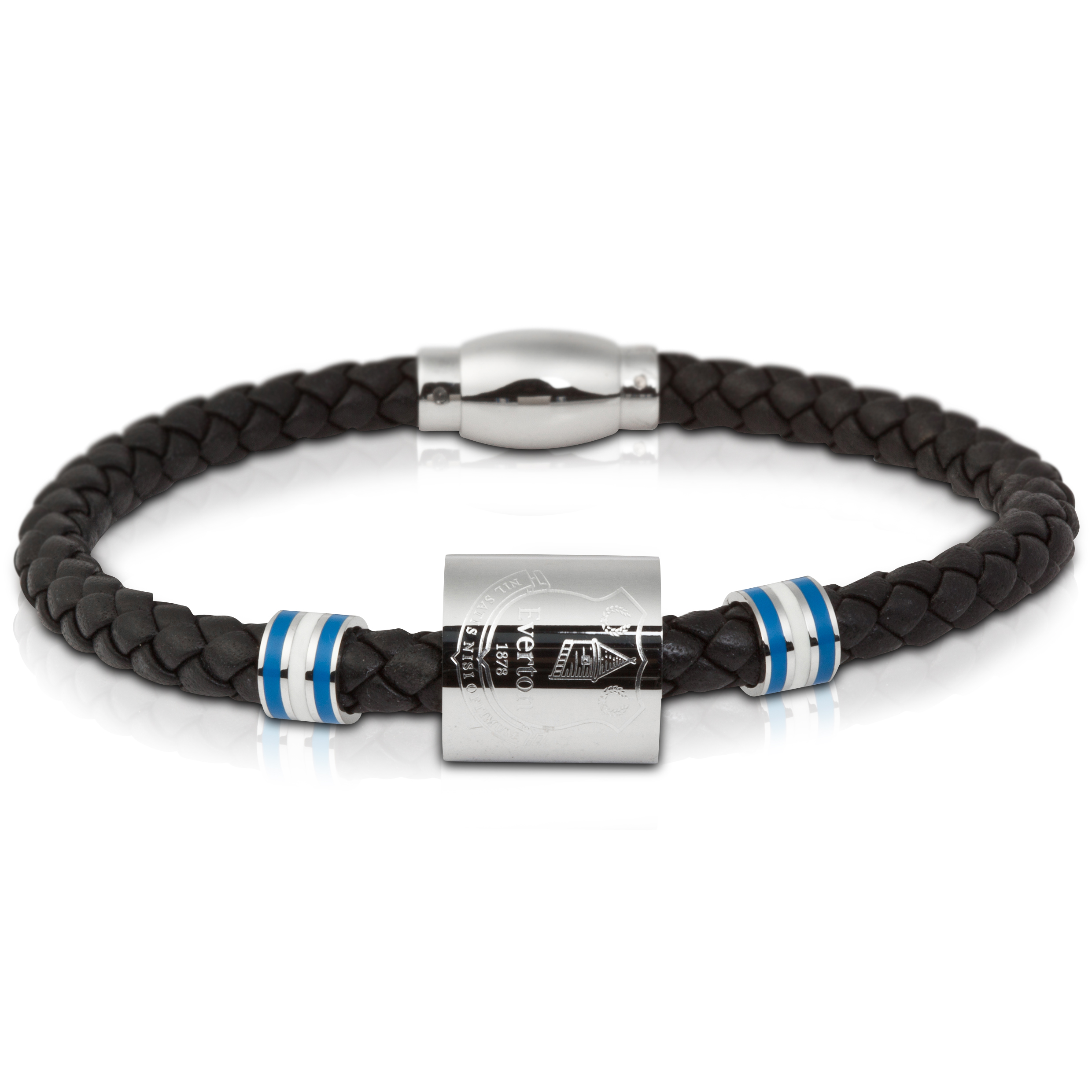 Everton Leather Platted Bracelet