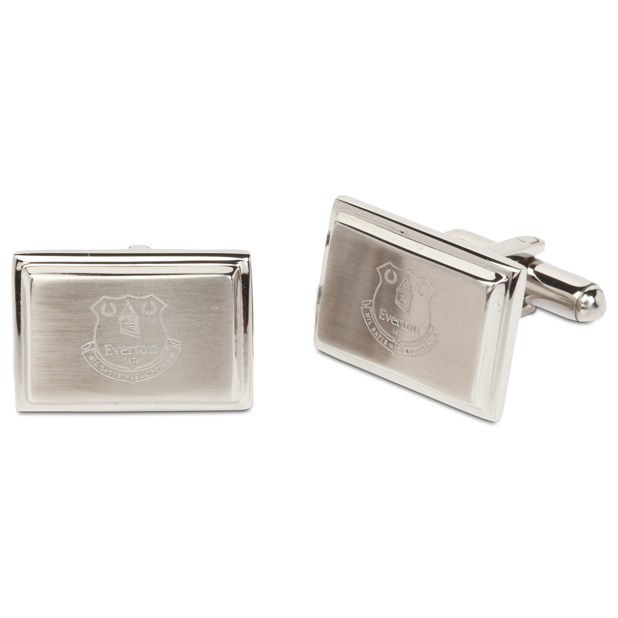 Everton Stainless Steel Rectangular Cufflinks
