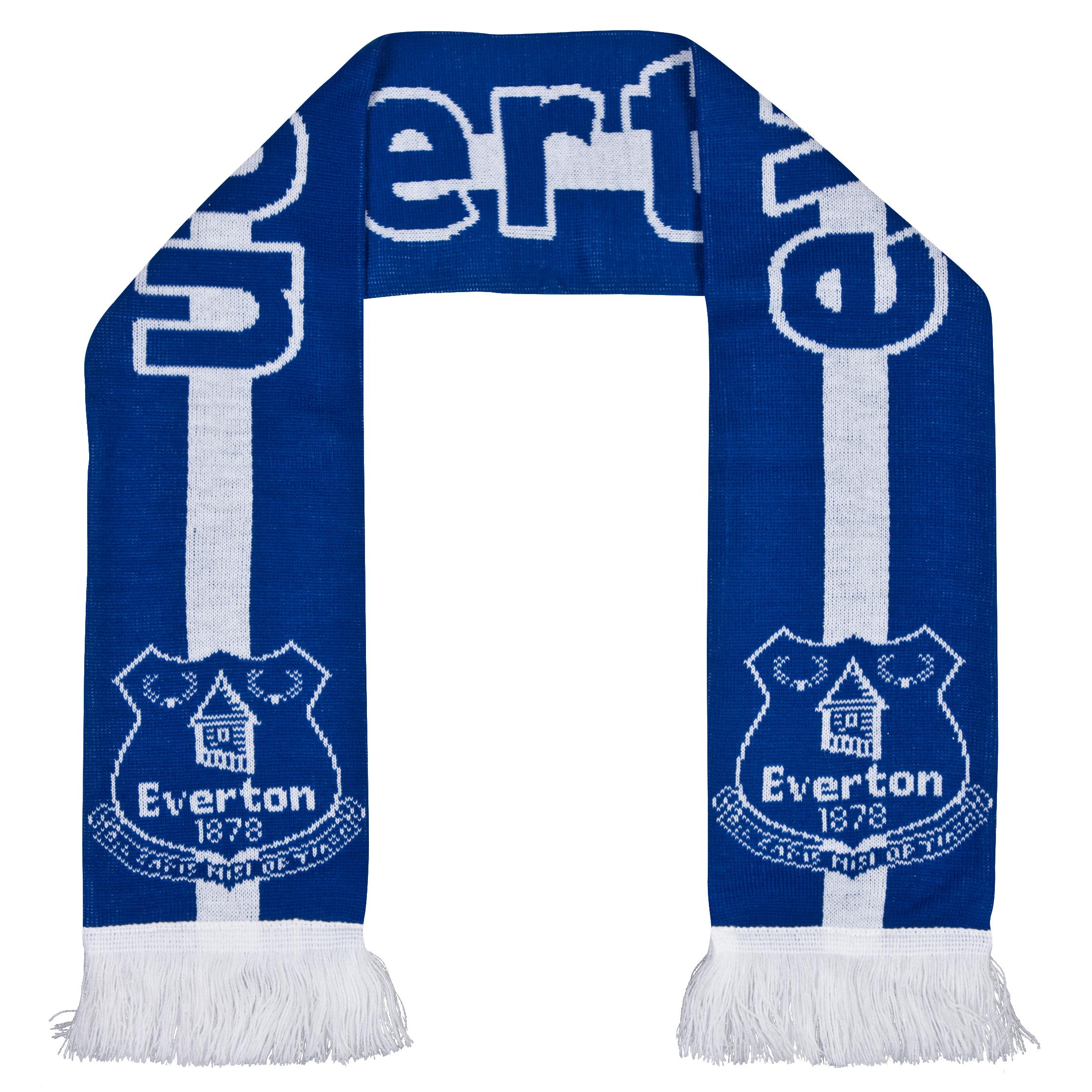 Everton Core Jaquard Scarf