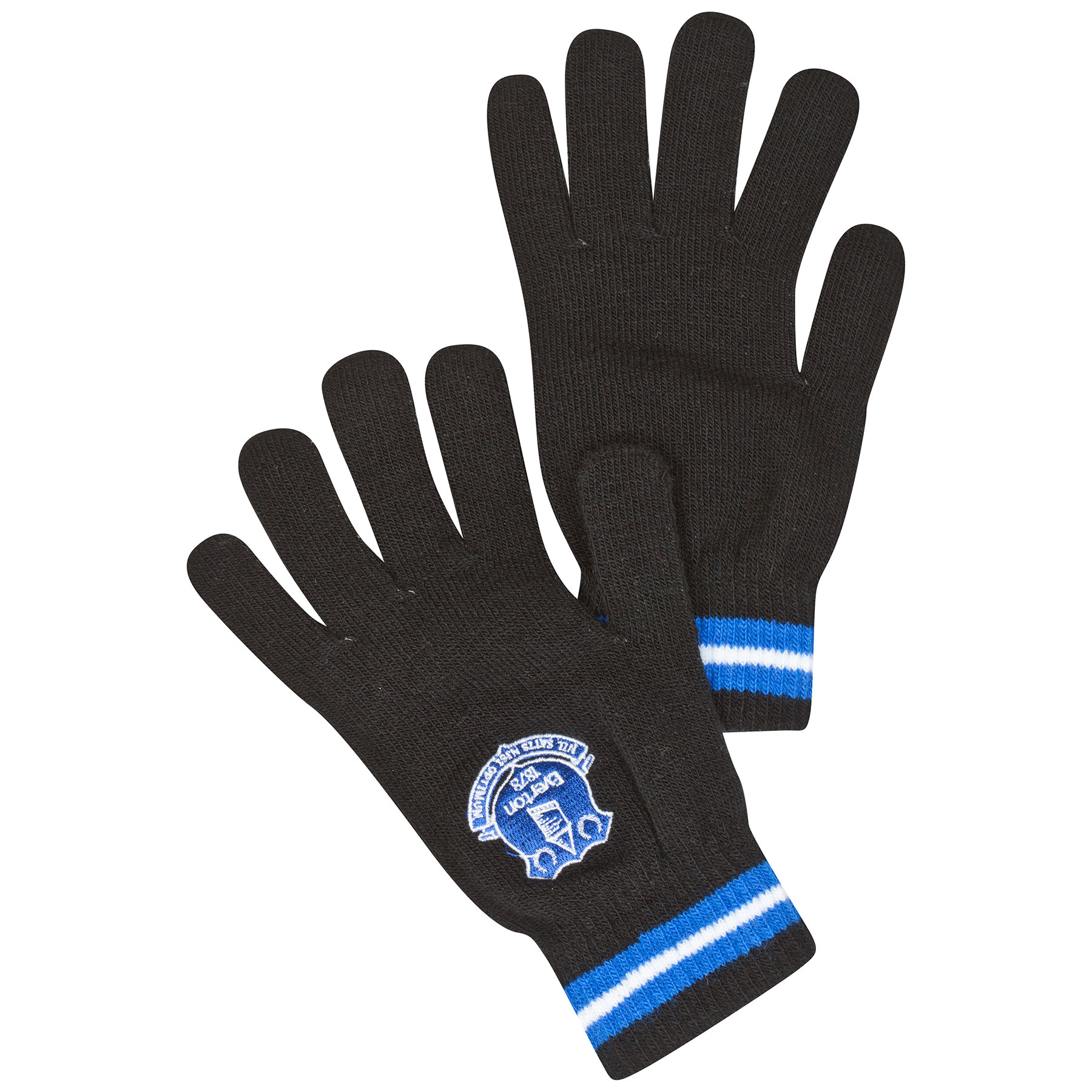 Everton Core Knitted Gloves Black