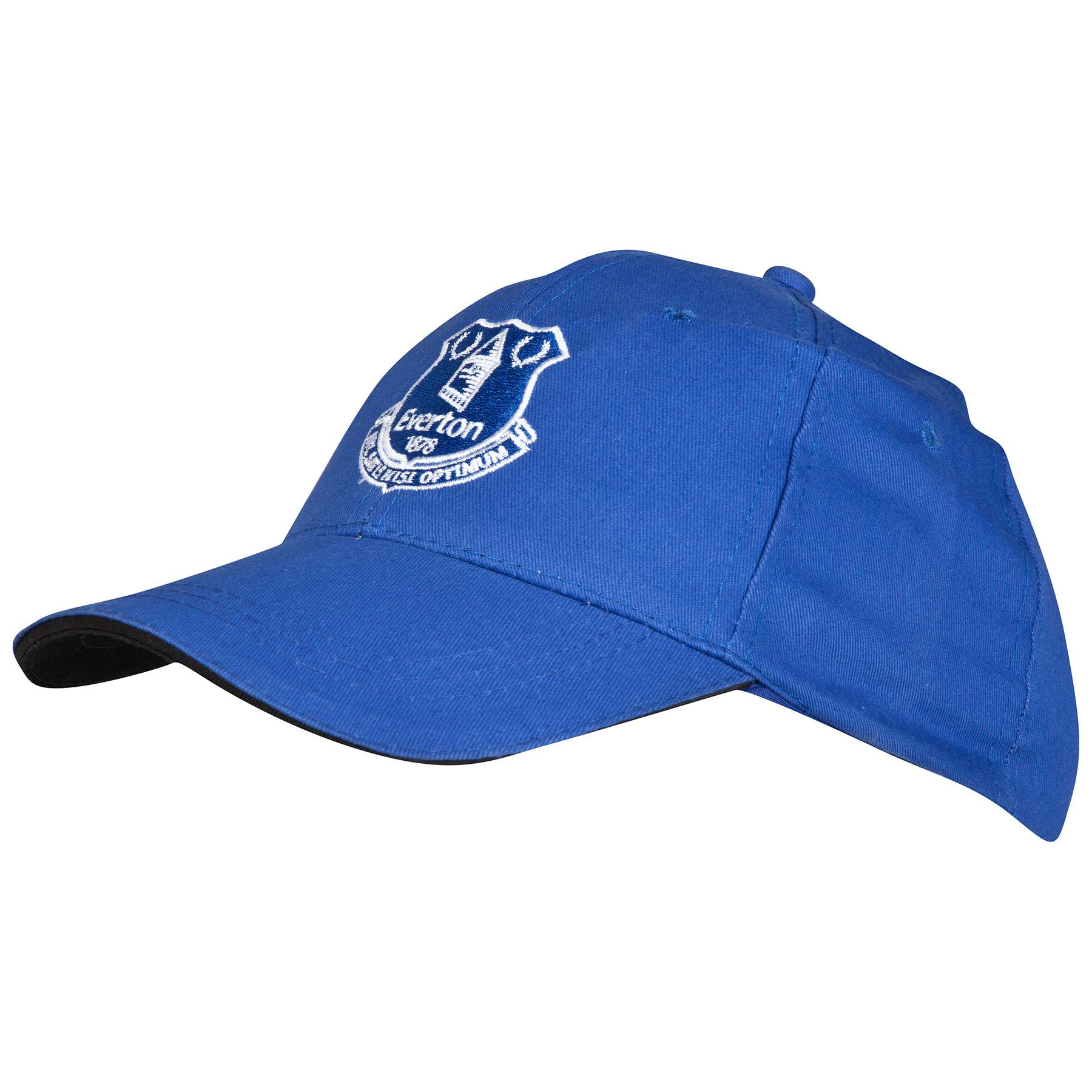 Everton Core Cap Junior Royal Blue