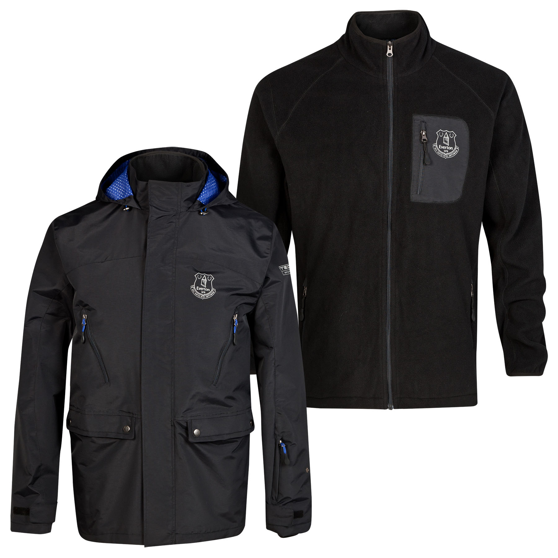 Everton 3in1 Triclimate Jacket - Black - Mens