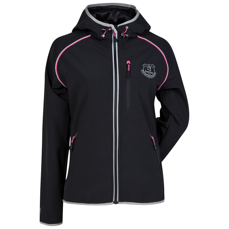 Everton Softshell Jacket - Black - Womens