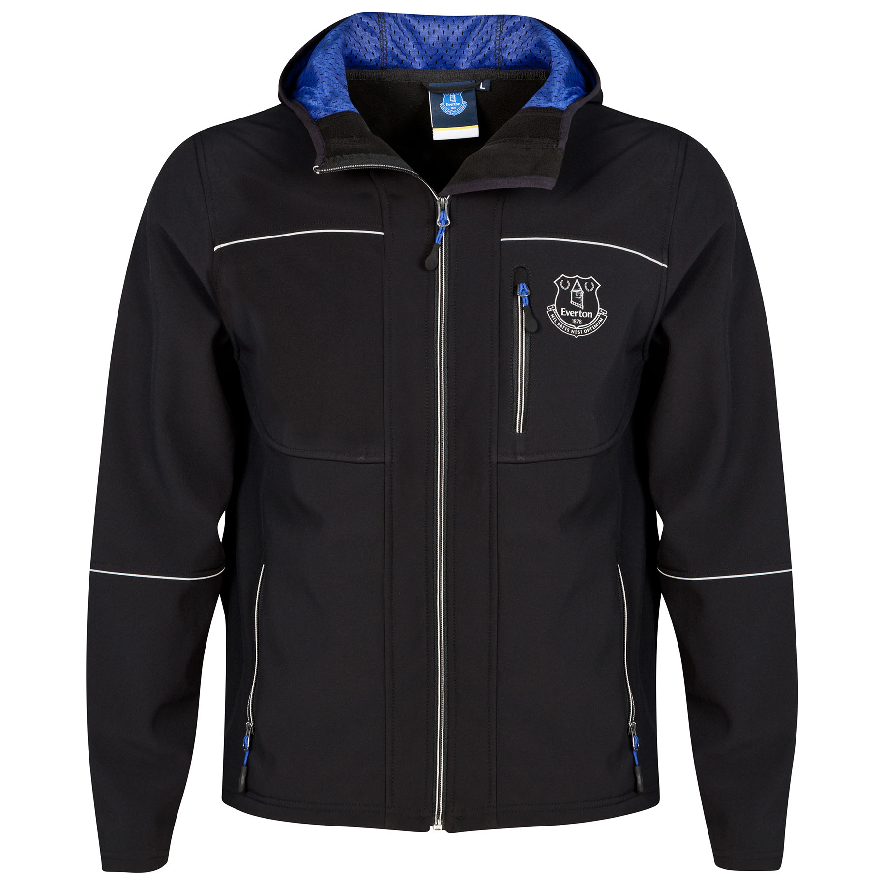 Everton Softshell Jacket- Black - Mens