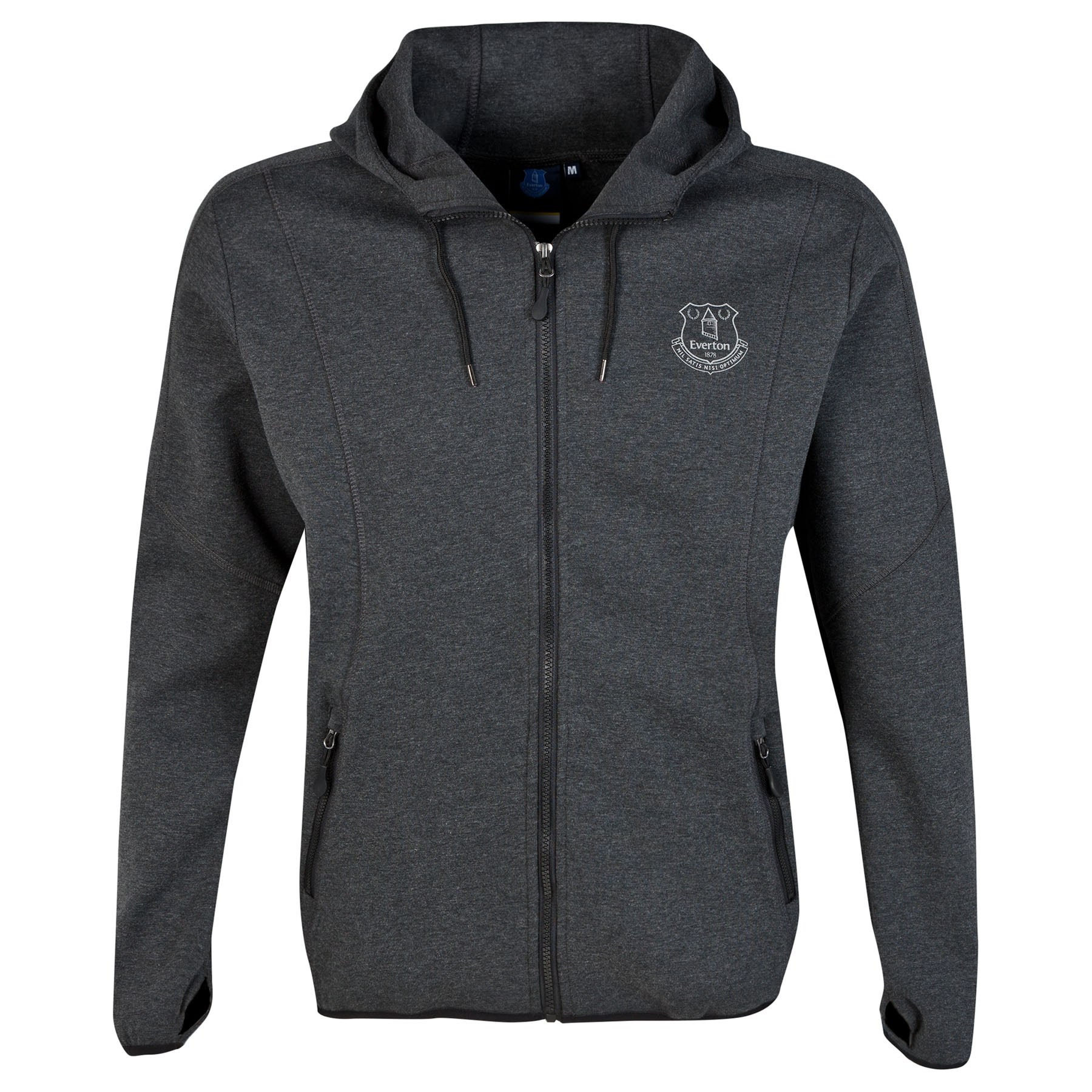 Everton Technical Hoodie - Charcoal - Mens