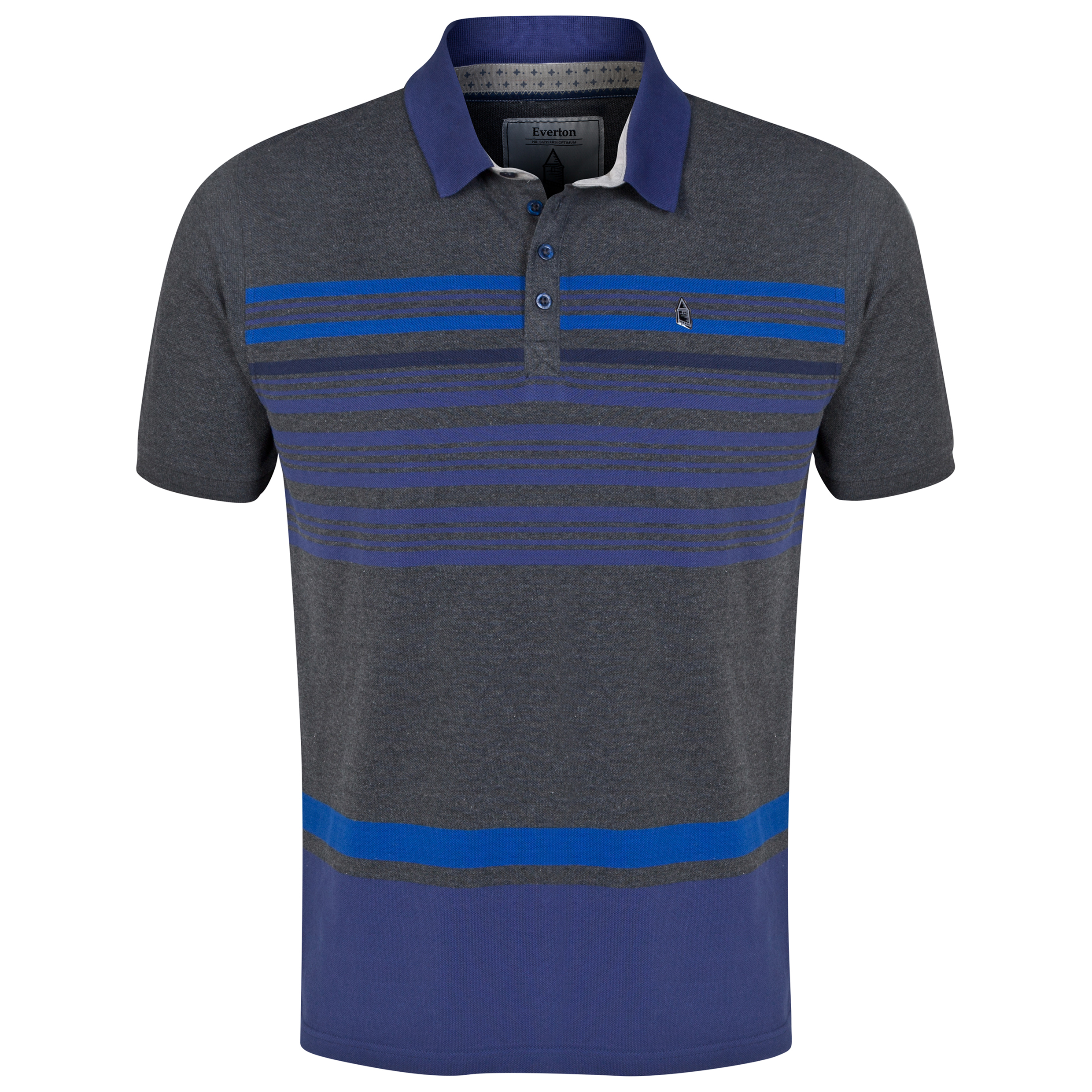 Everton Stripe Polo Shirt