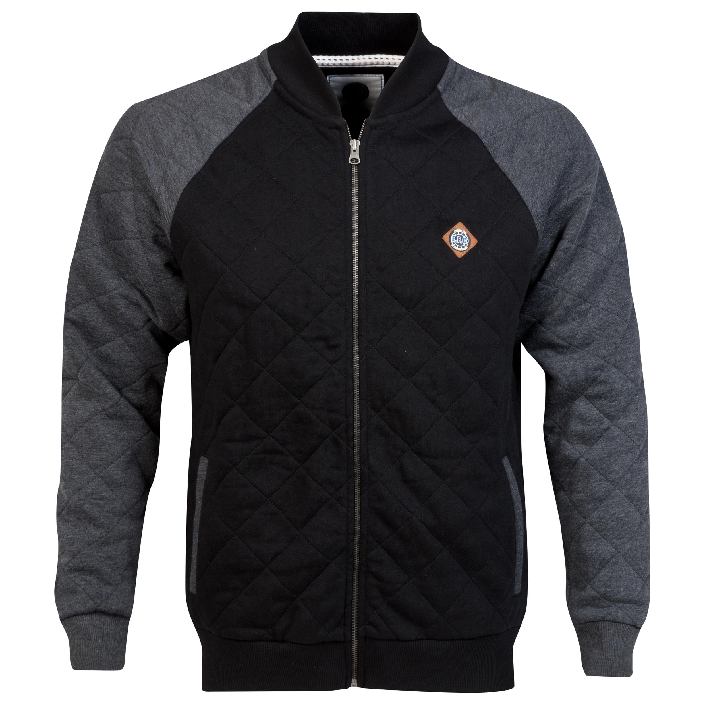 Everton Bomber Jacket - Black/Grey - Mens
