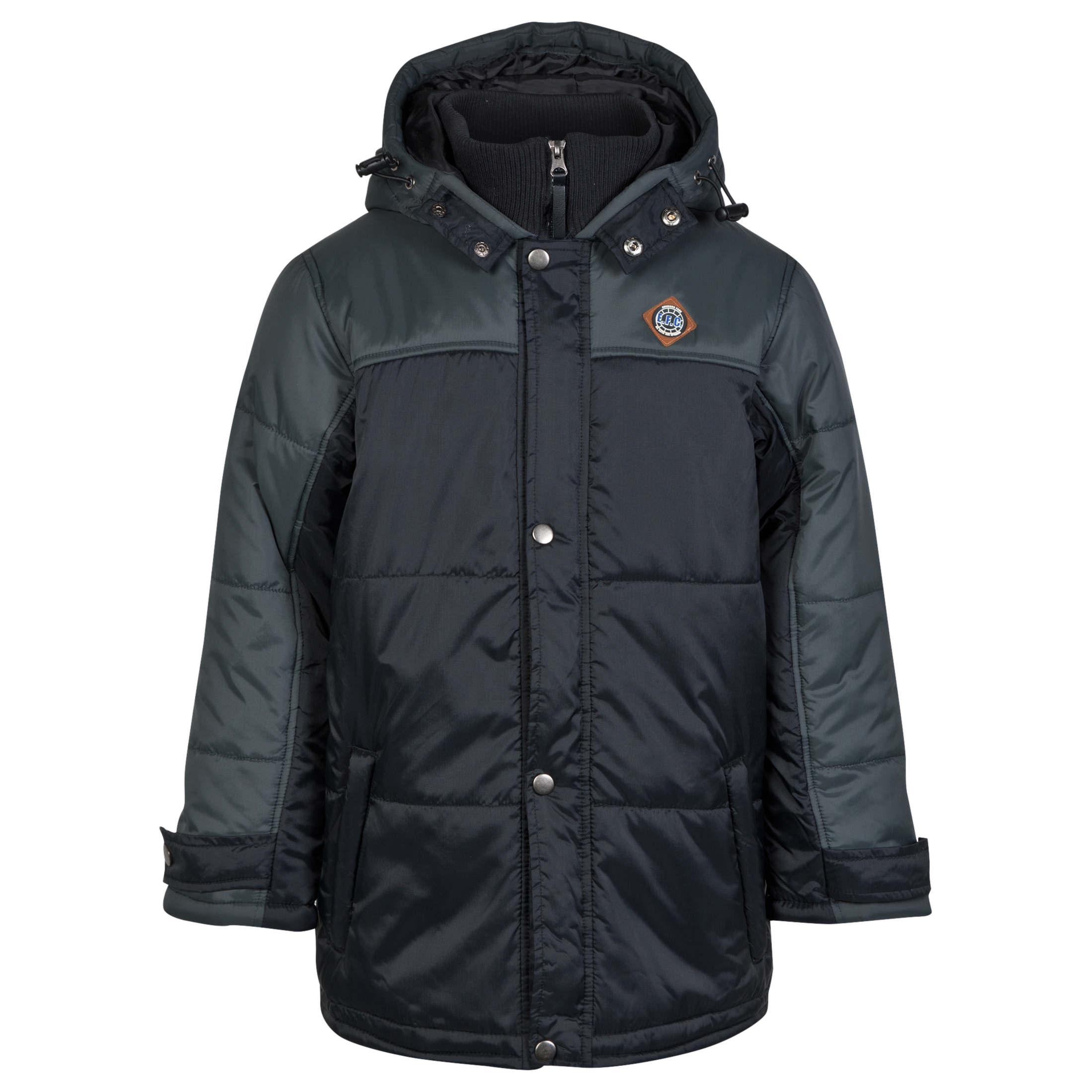 Everton Padded Coat - Black - Older Boys