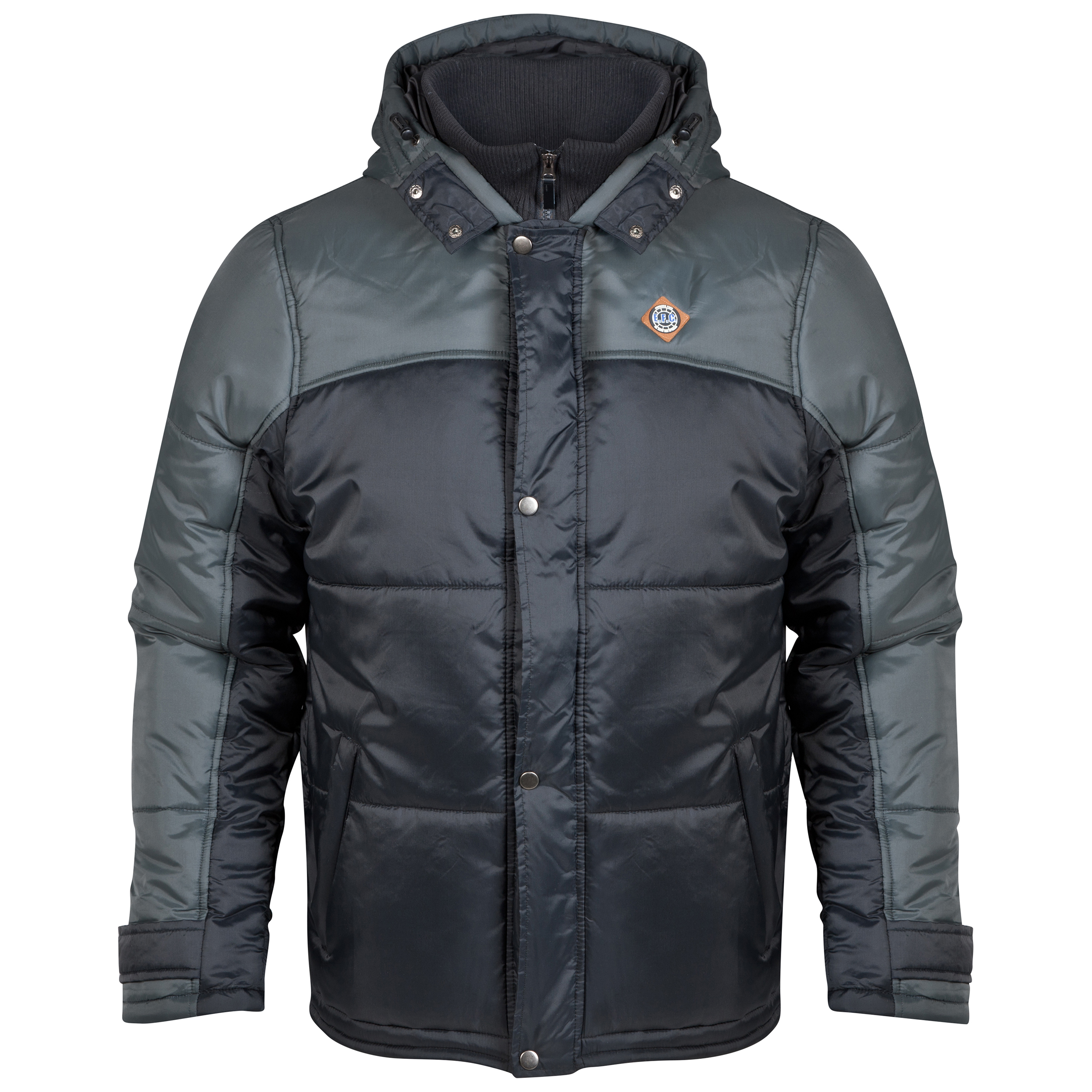 Everton Padded Coat - Black - Mens