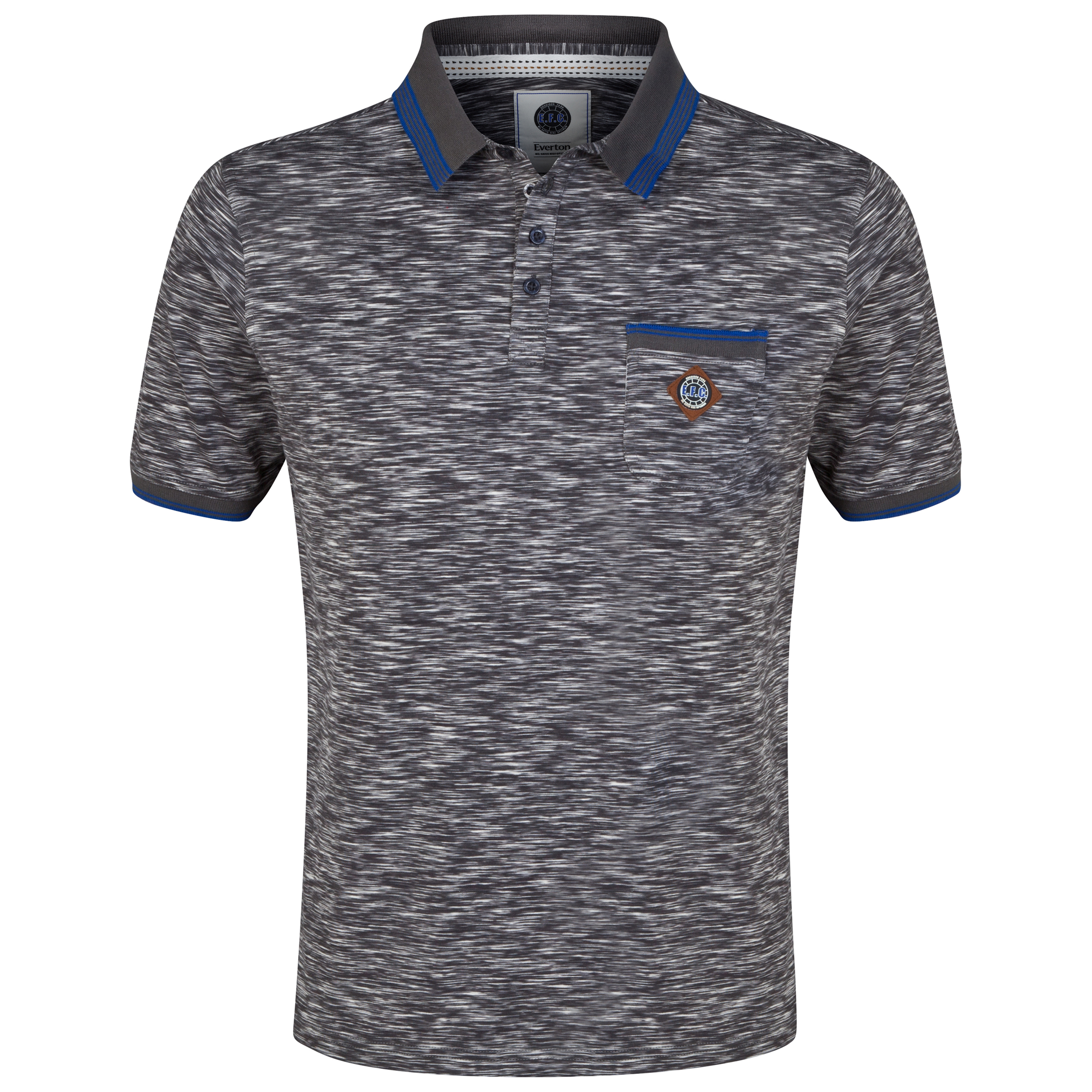 Everton Polo Shirt - Charcoal - Mens