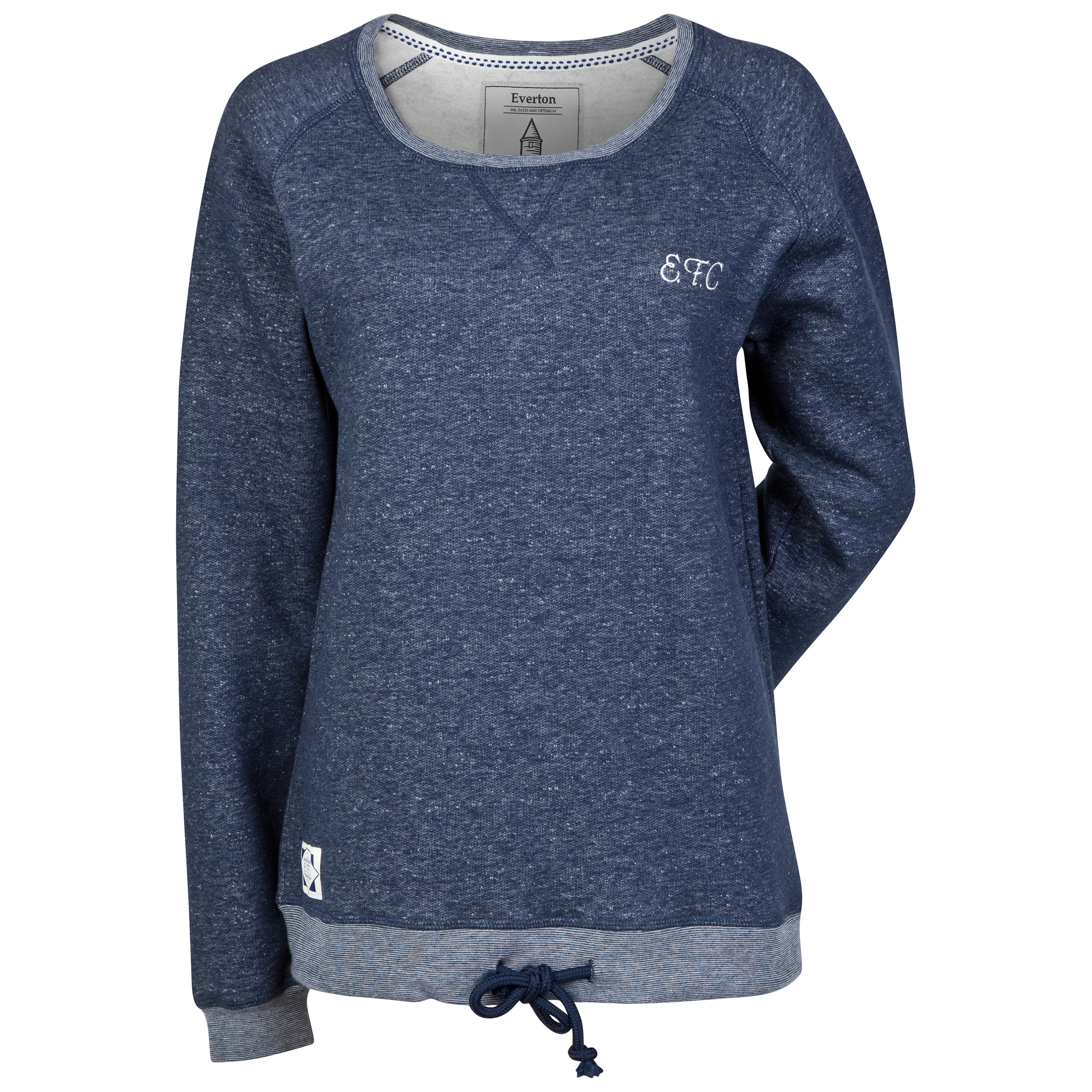 Everton Crew Sweatshirt - Denim Marl - Womens