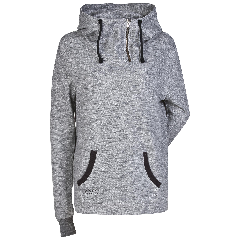 Everton Hoodie - Grey Marl - Womens