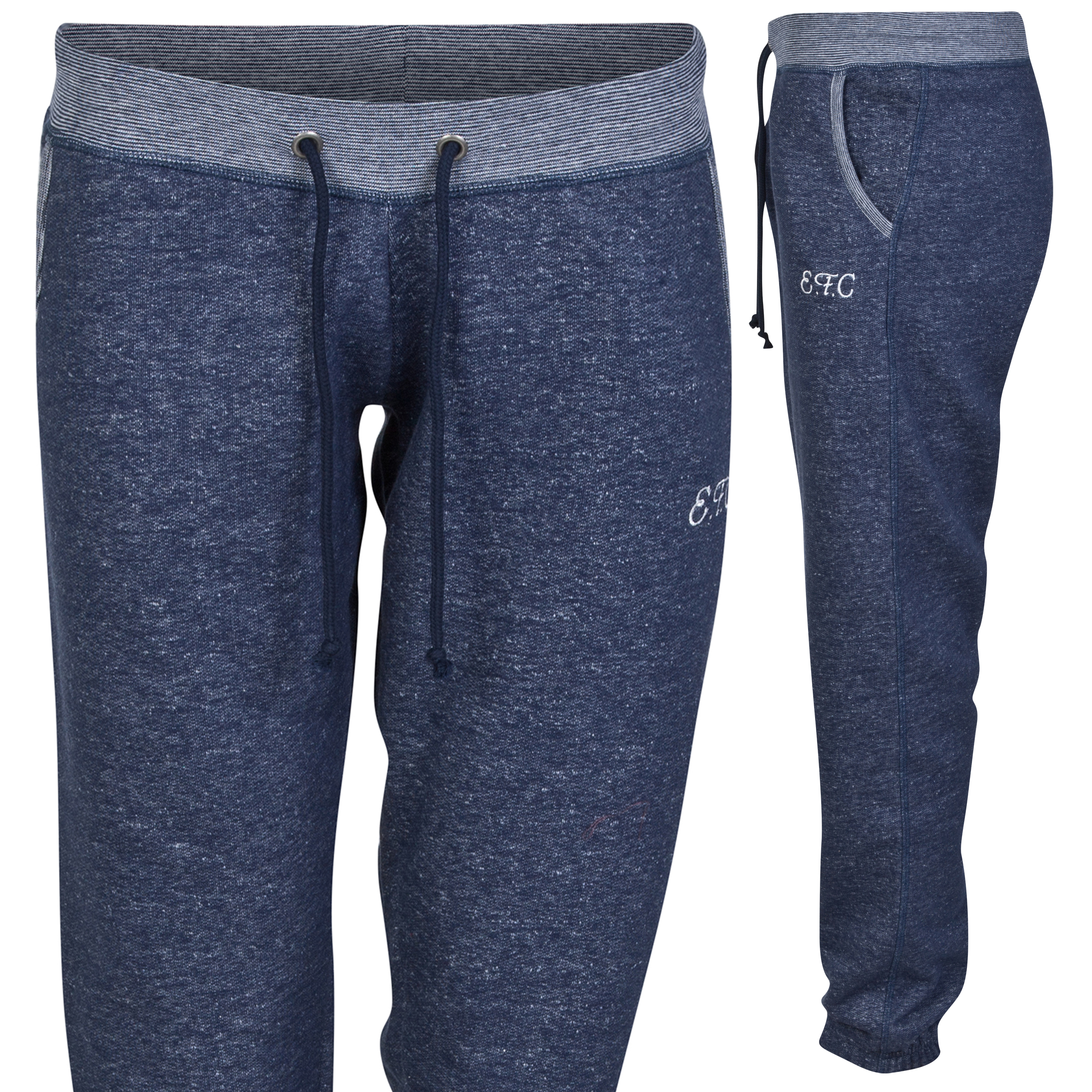 Everton Jog Pants- Denim Marl - Womens