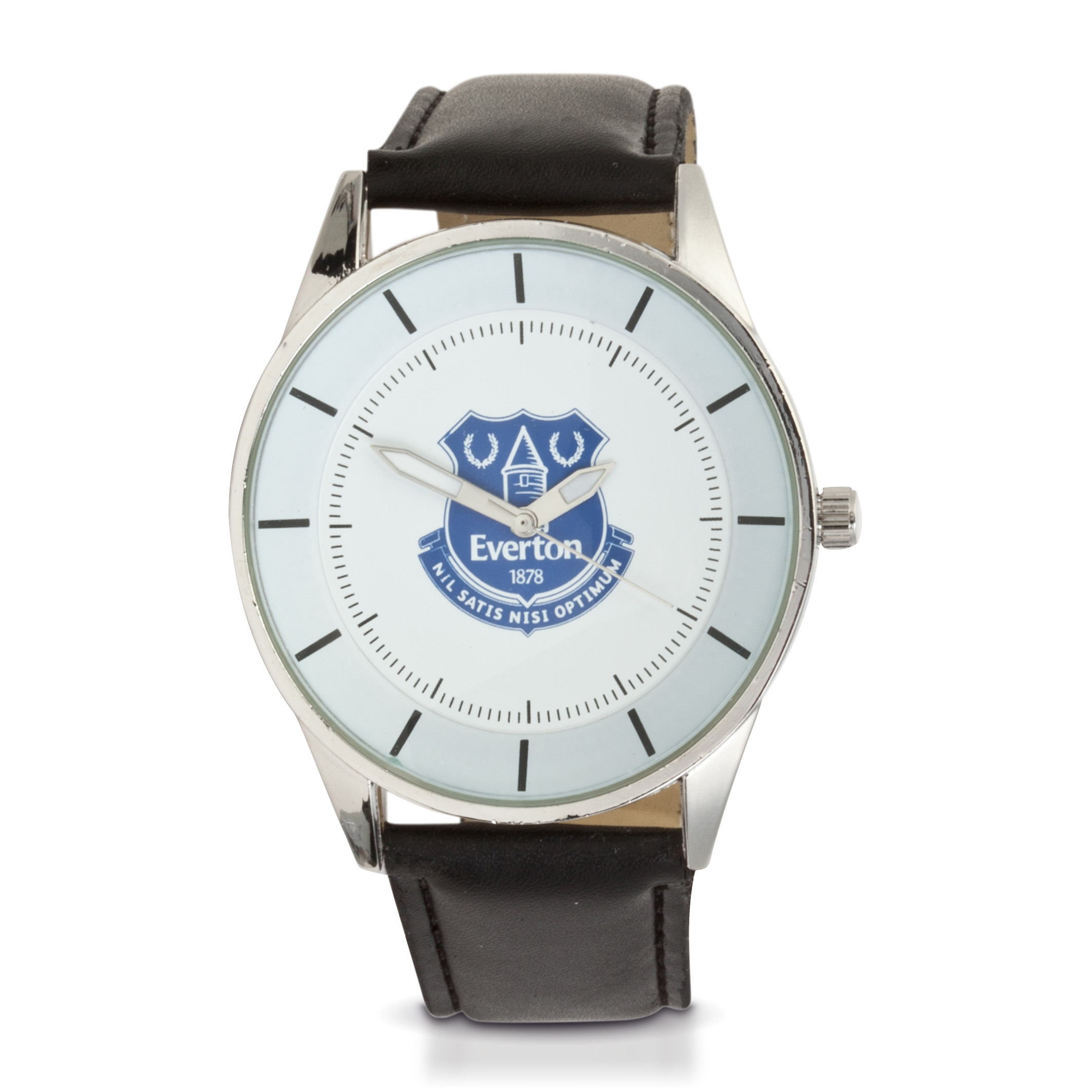 Everton Mens PU Leather Strap Watch
