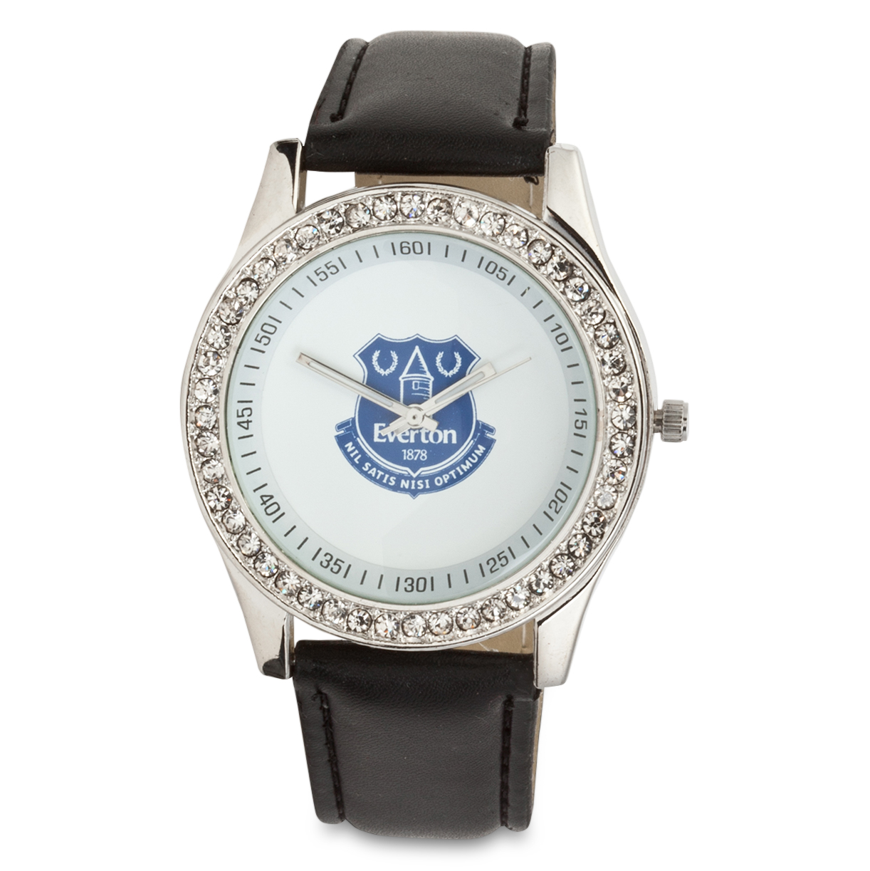 Everton Ladies Pu Leather Strap Watch