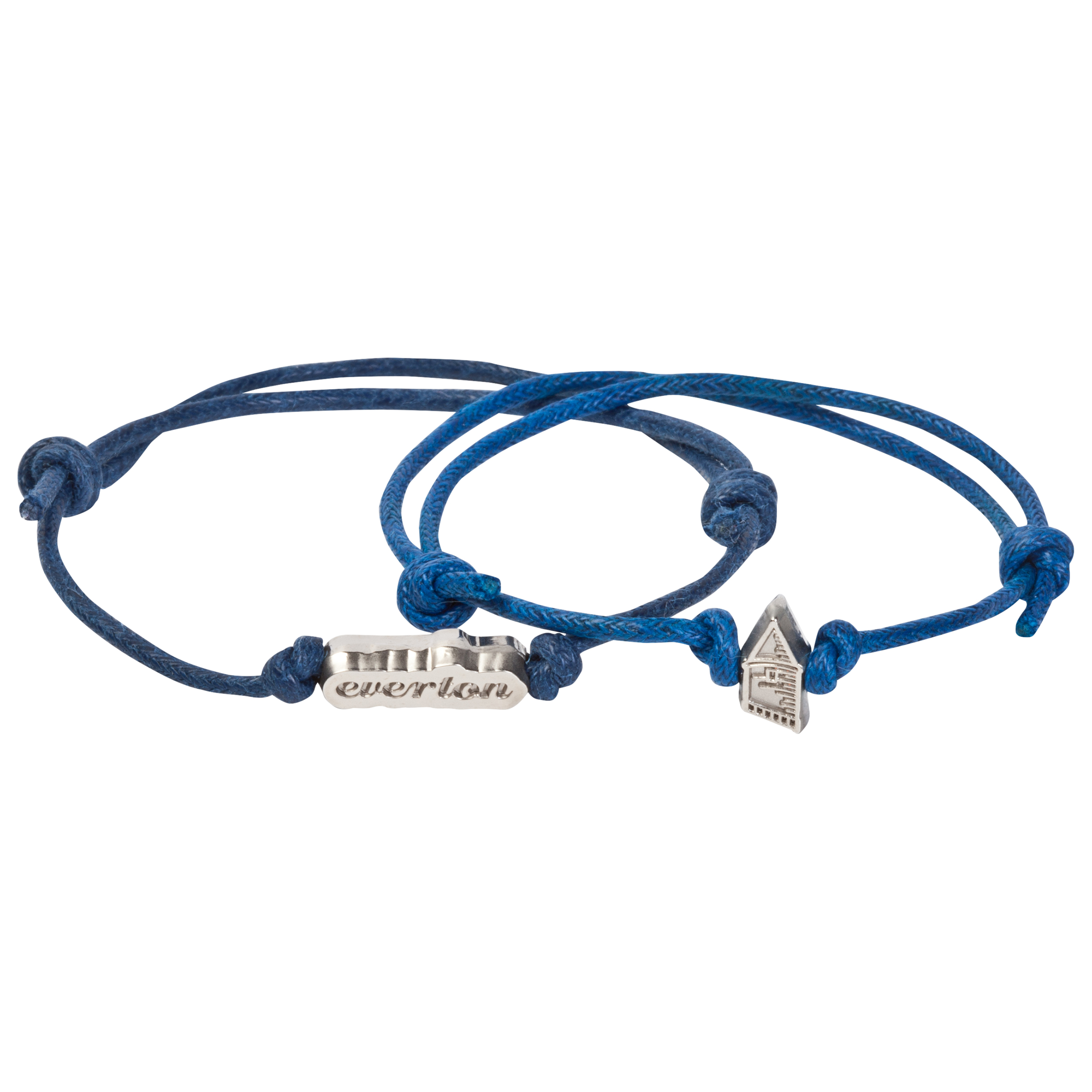 Everton Twin Pack Cord Bracelet