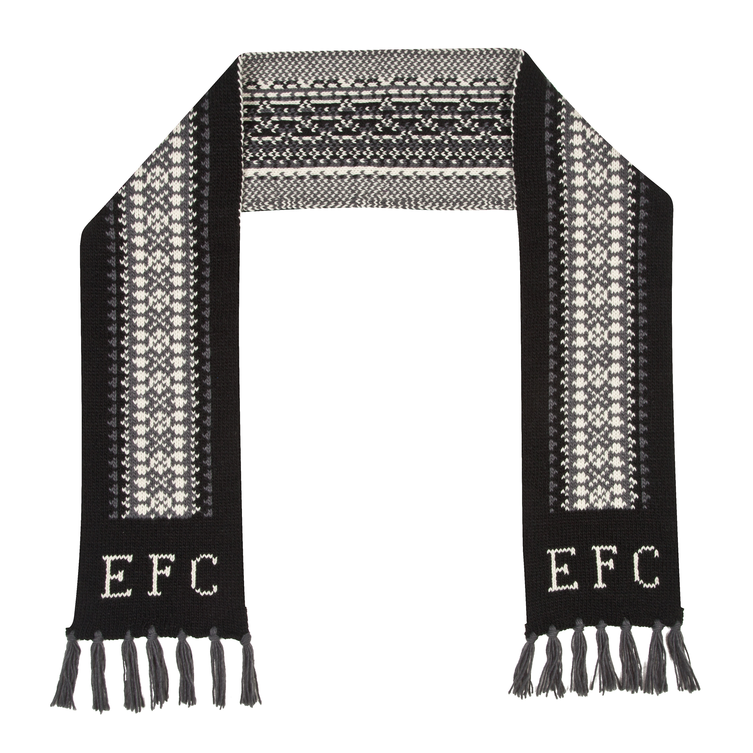Everton Scarf - Grey- Adult