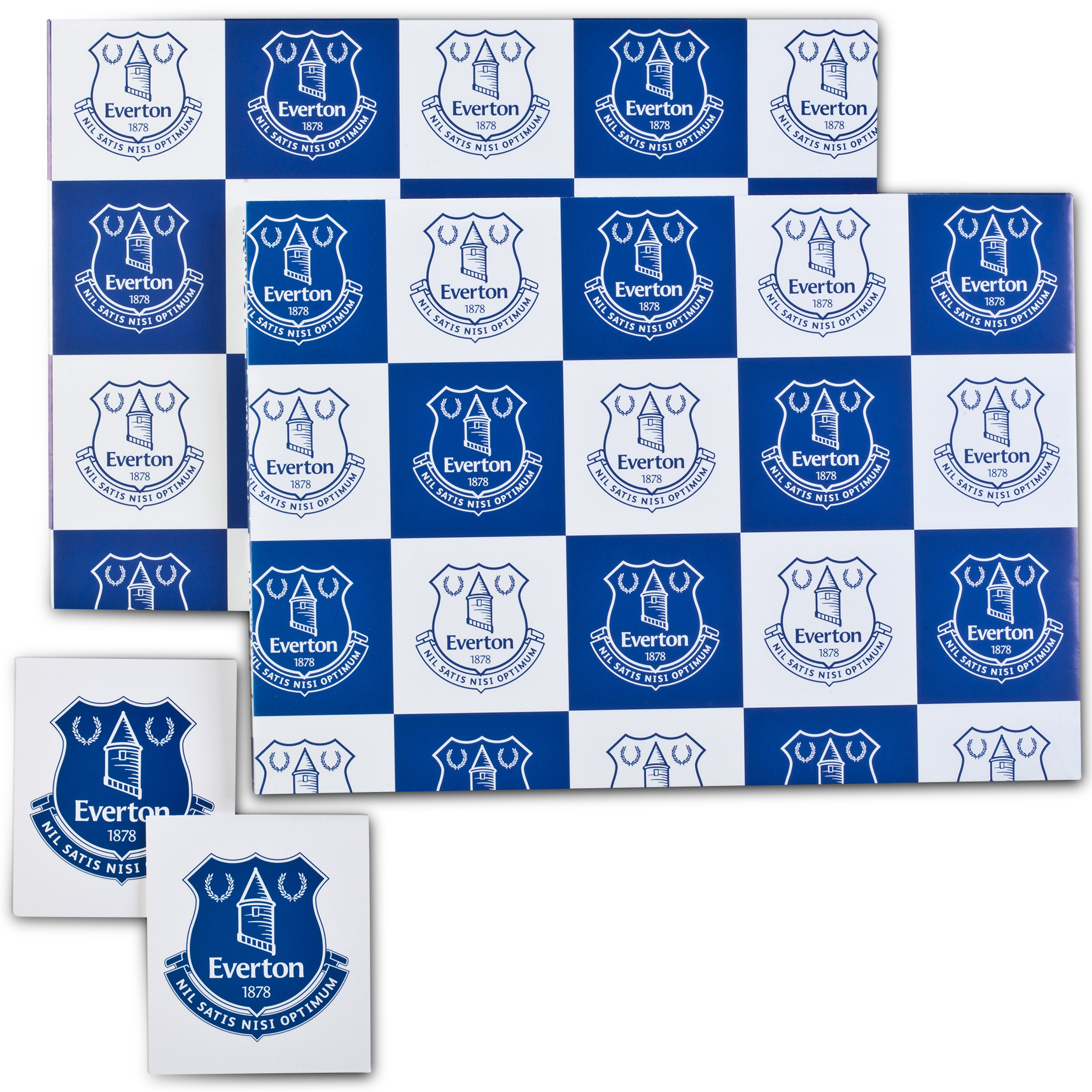 Everton Gift Wrap and Tags