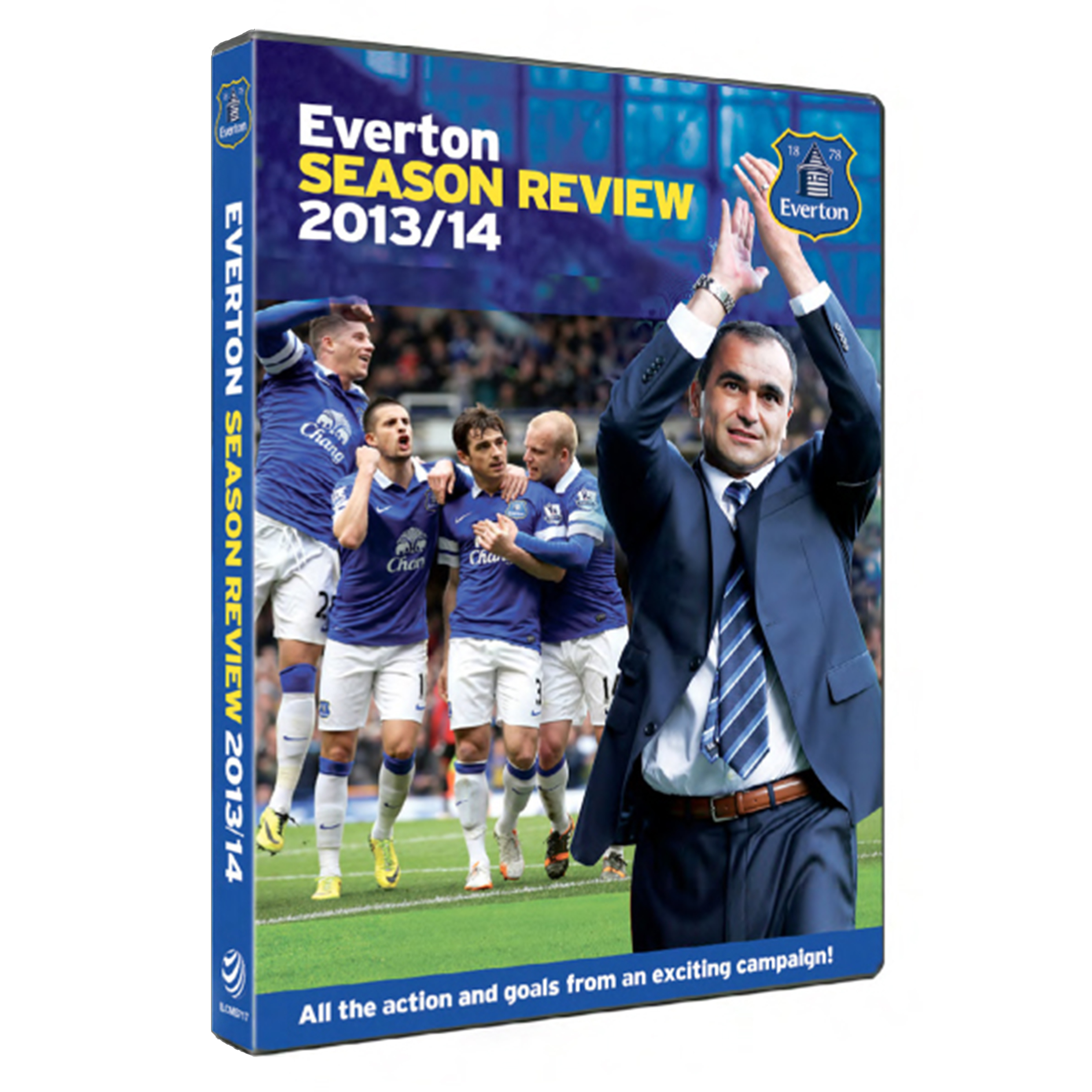Everton Season Review 2013/14 DVD