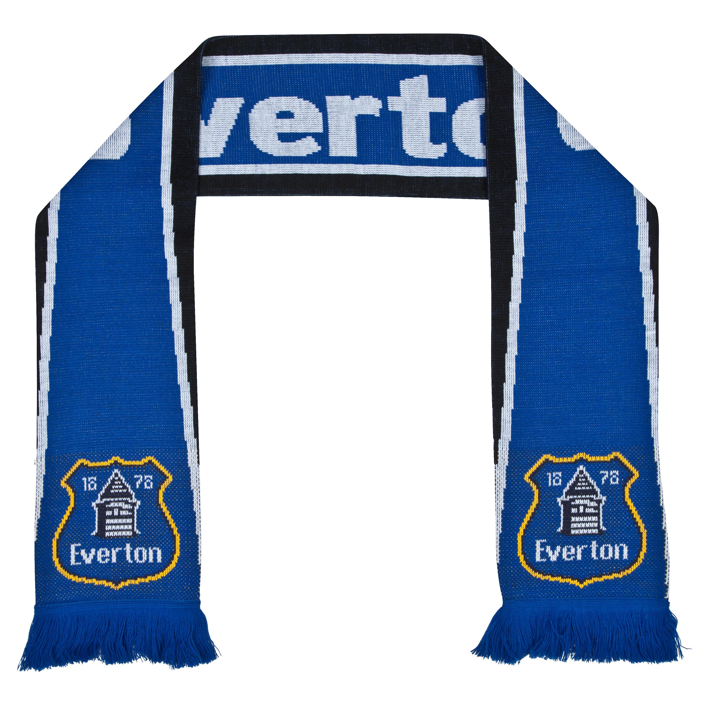 Everton Core Jacquard Scarf