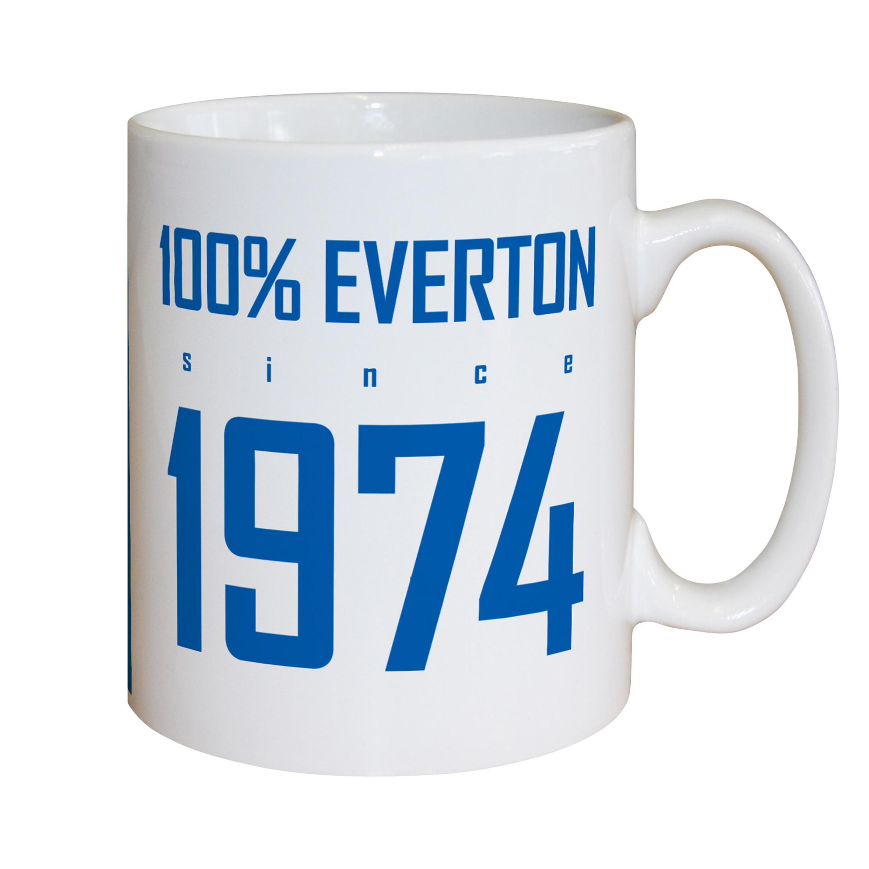 Everton Personalised 100 Percent Everton Mug