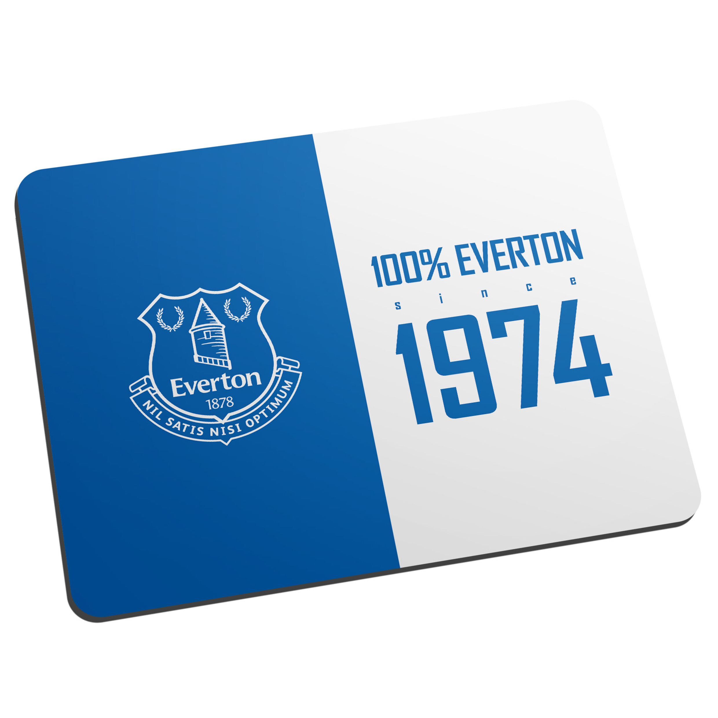 Everton Personalised 100 Percent Mouse Mat
