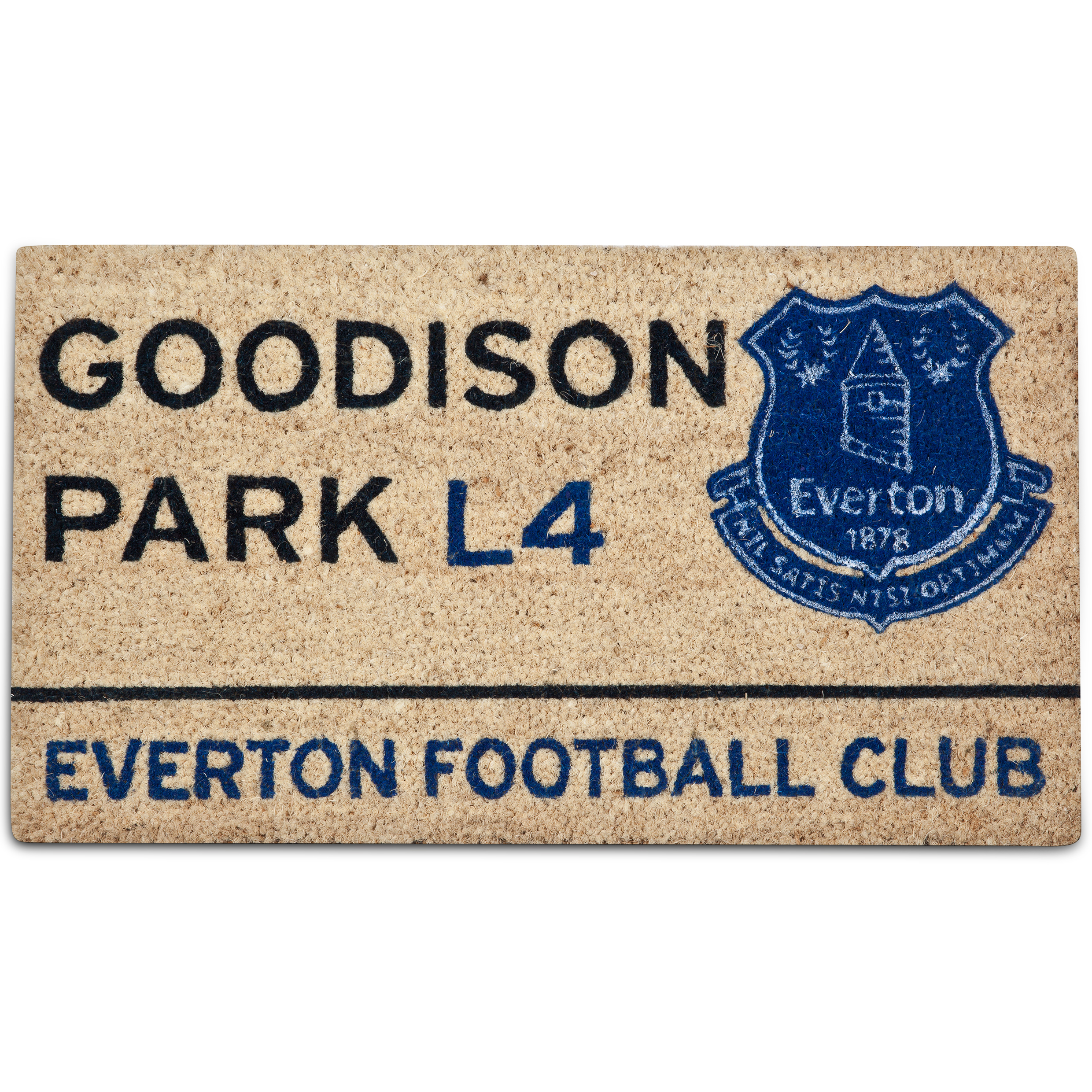 Everton Street Sign Doormat