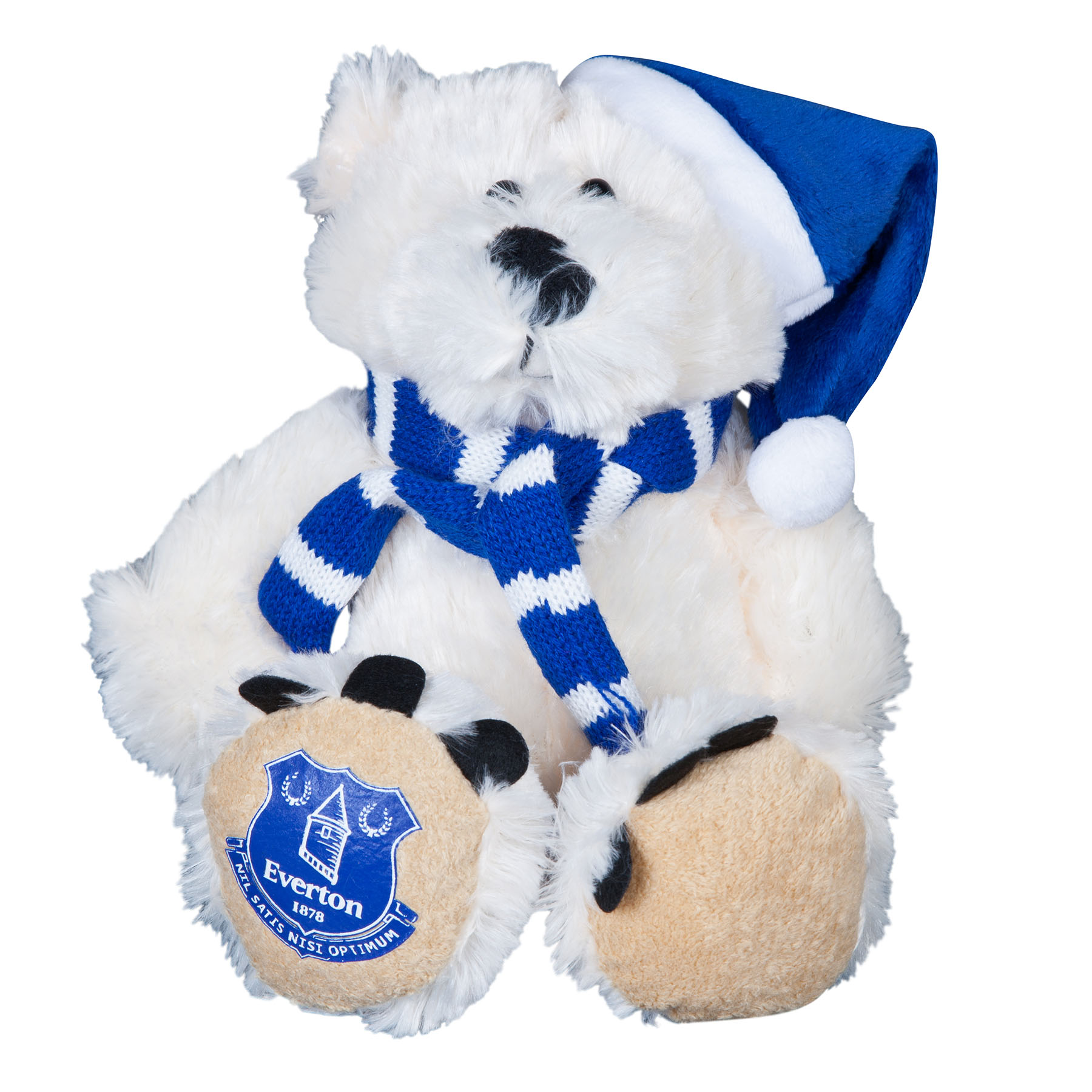 Everton 8 inch Polar Bear With Scarf