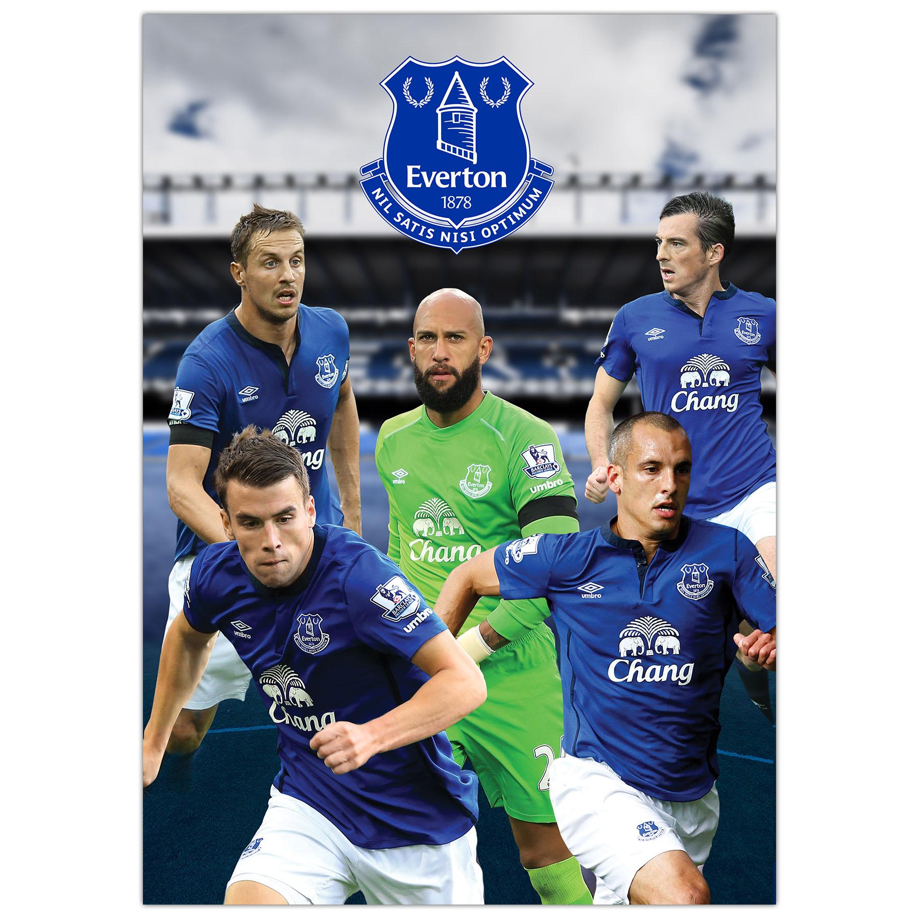 Everton A3 Calendar 2015