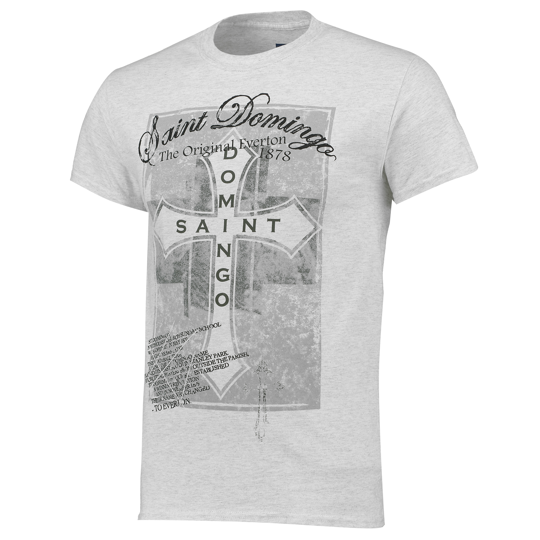 Everton 2for20 St Domingo T-Shirt - Light Grey