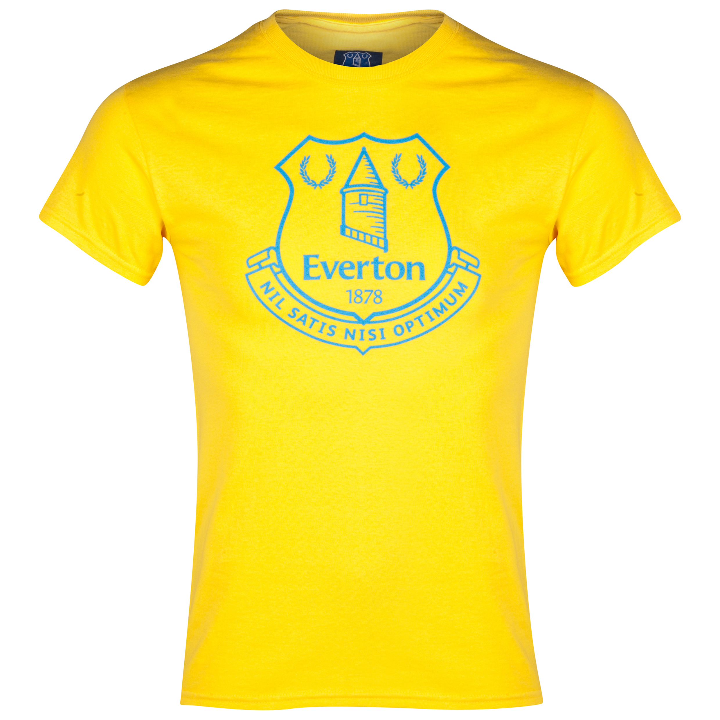 Everton 2for20 Crest T-Shirt - Yellow