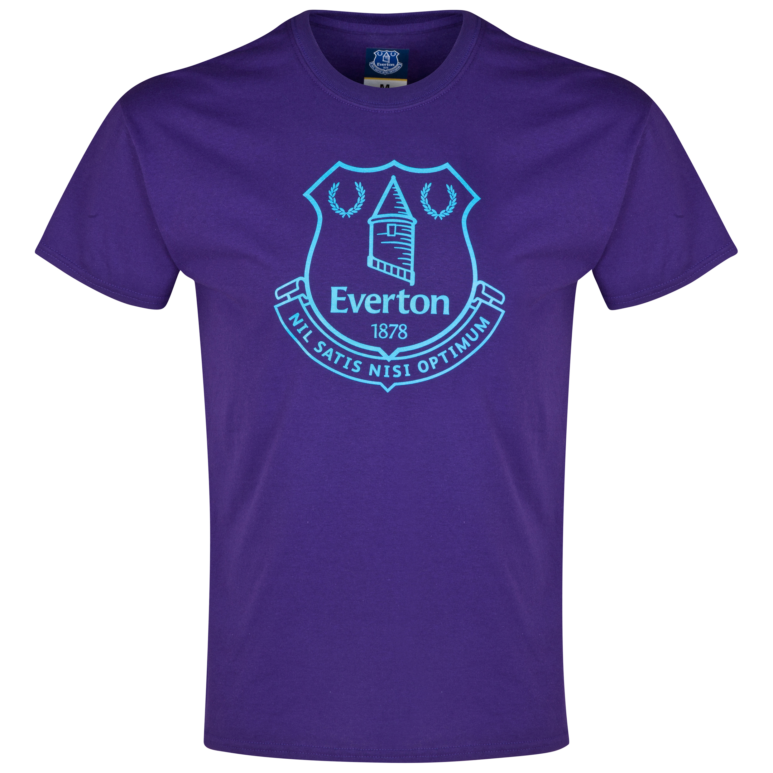 Everton 2for20 Crest T-Shirt - Purple