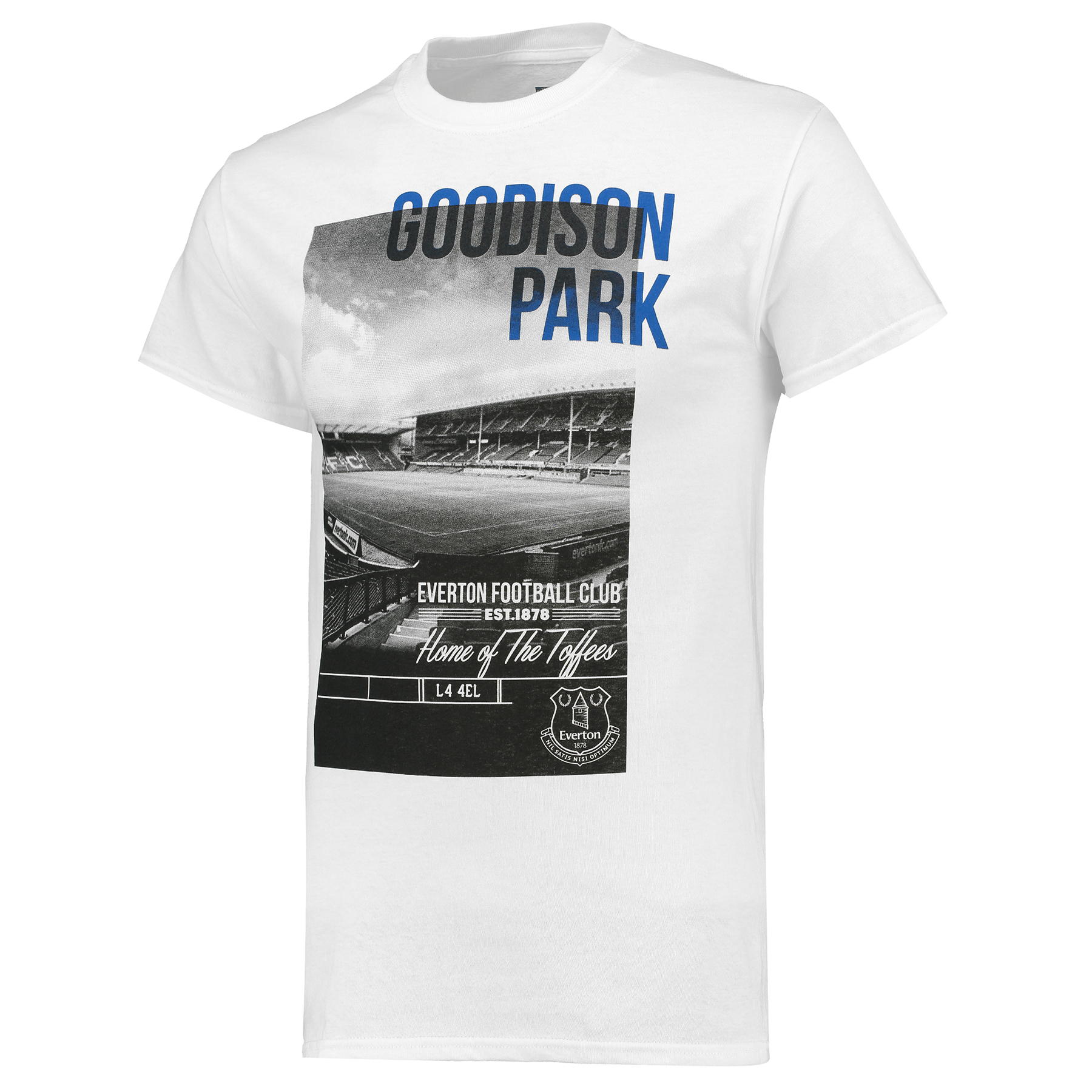 Everton 2for20 Photo Stadium T-Shirt - White