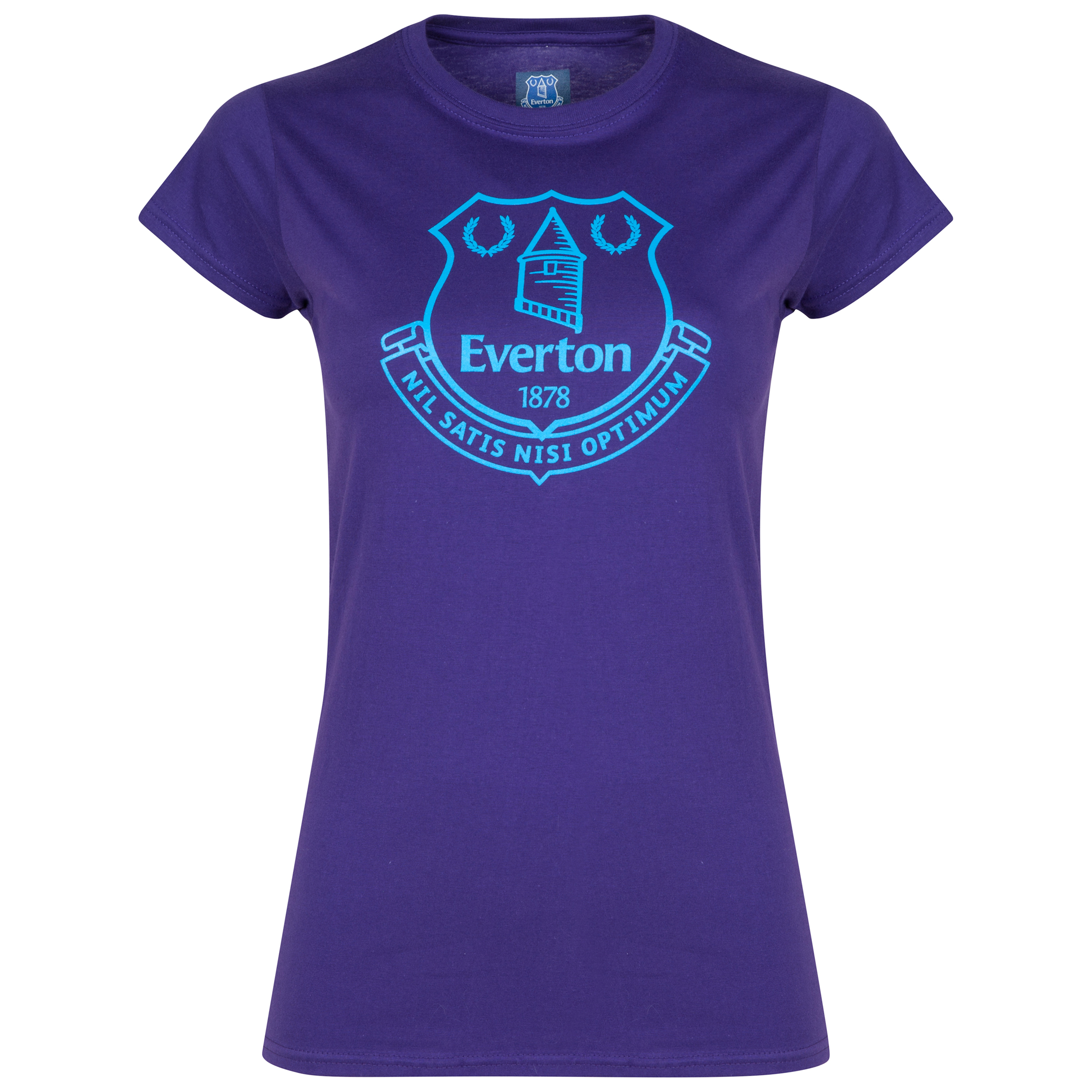 Everton 2for20 Crest T-Shirt - Purple - Womens
