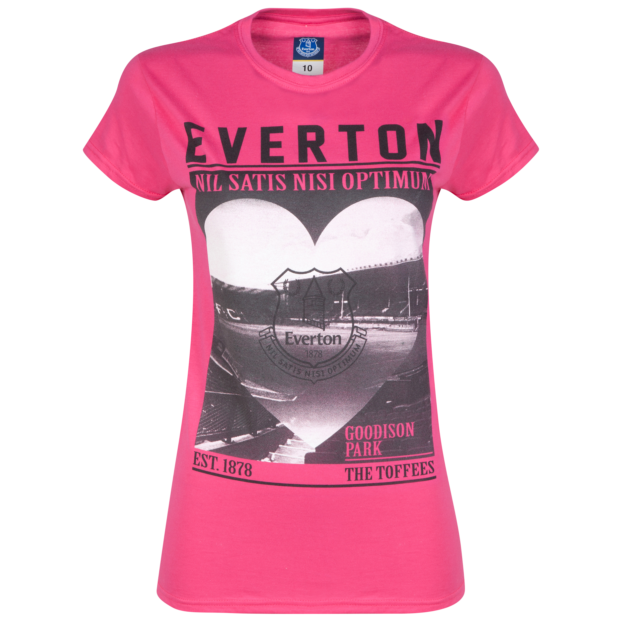 Everton 2for20 Stadium Love T-Shirt - Pink - Womens