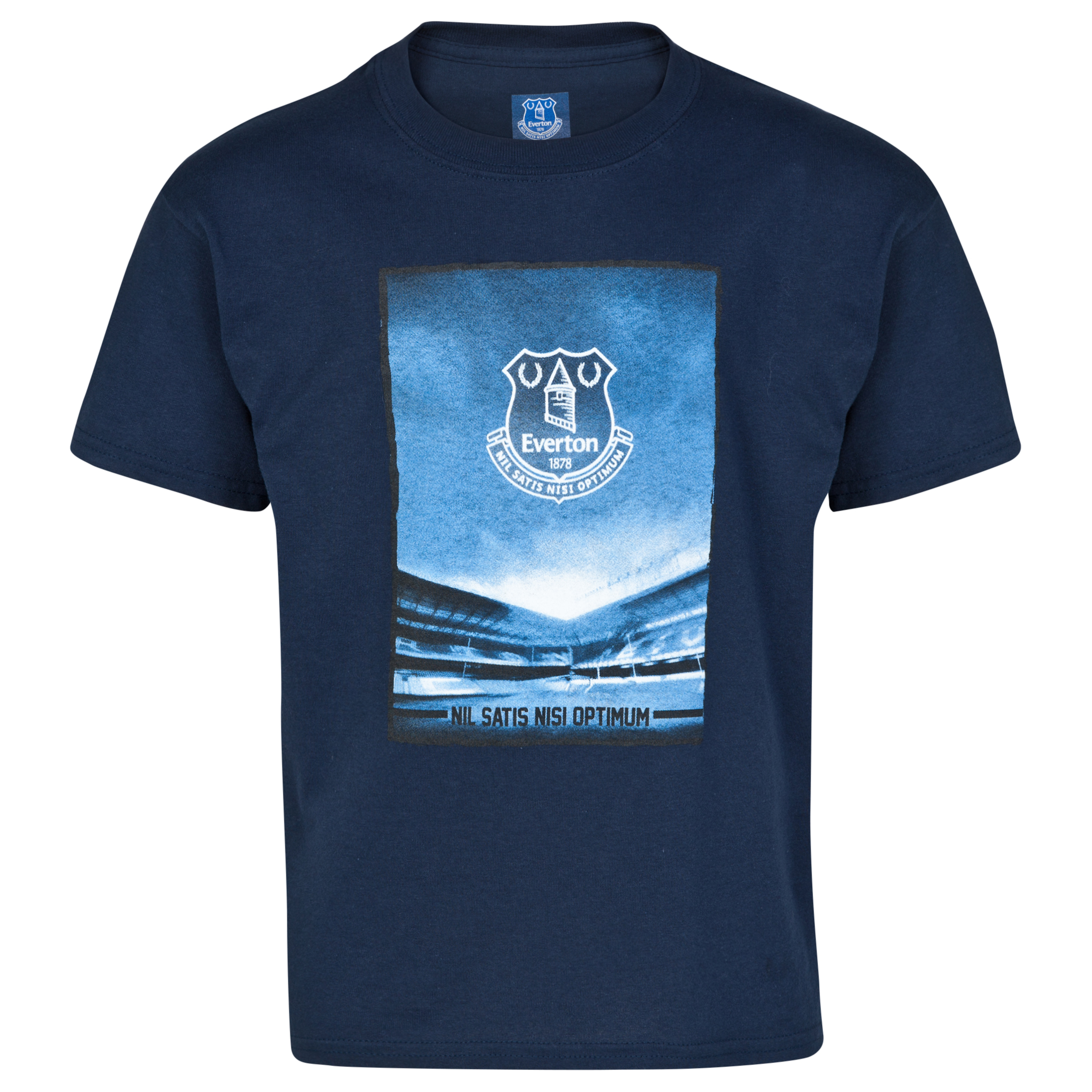 Everton 2For15 Stadium T-Shirt - Junior - Navy