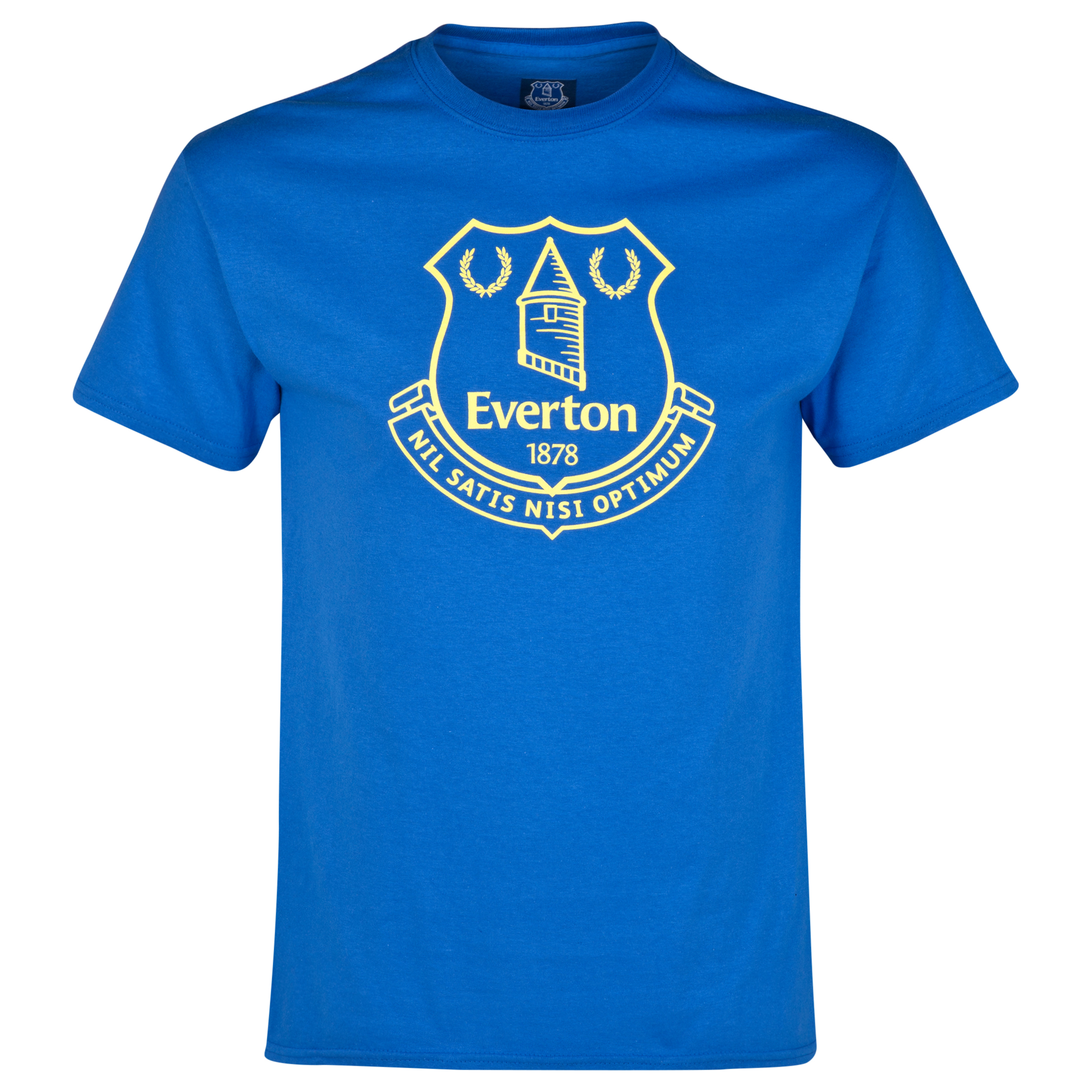 Everton 2for15 Crest T-Shirt - Junior - Royal Blue