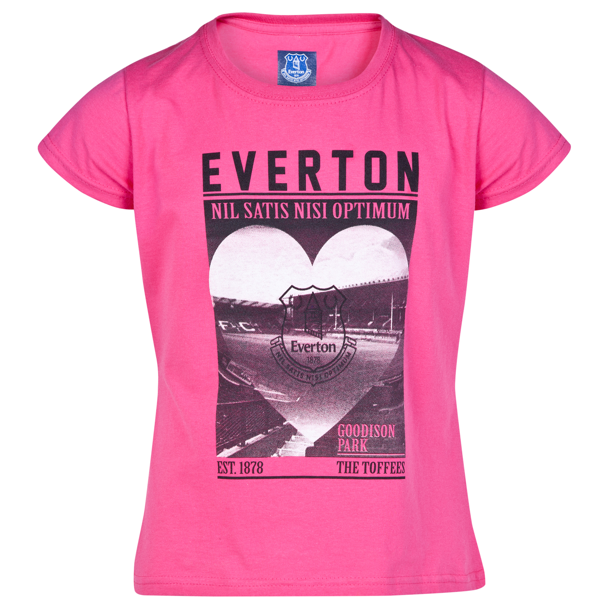 Everton 2for20 Stadium Love T-Shirt - Junior - Pink