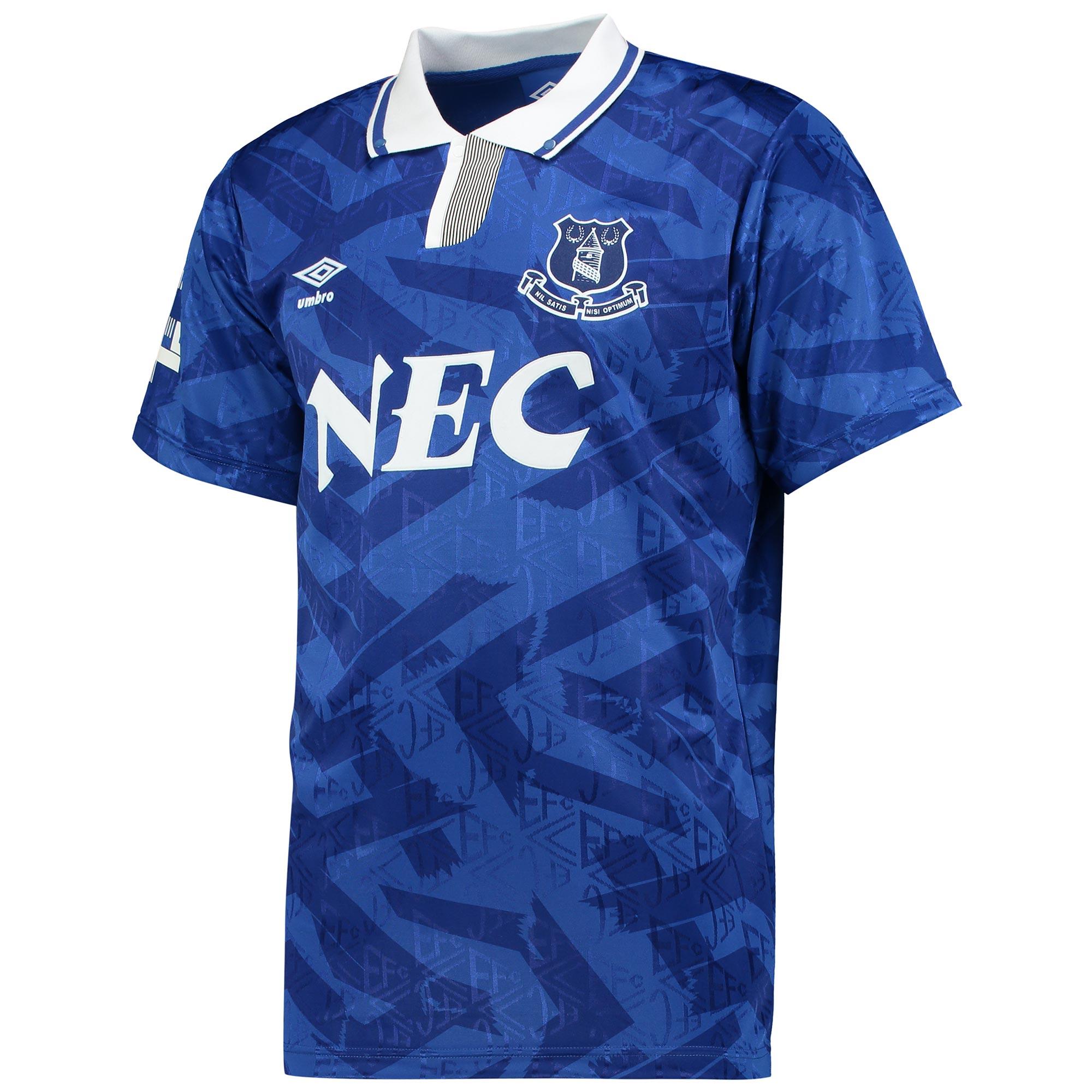 Image of Everton 1992 Home Shirt