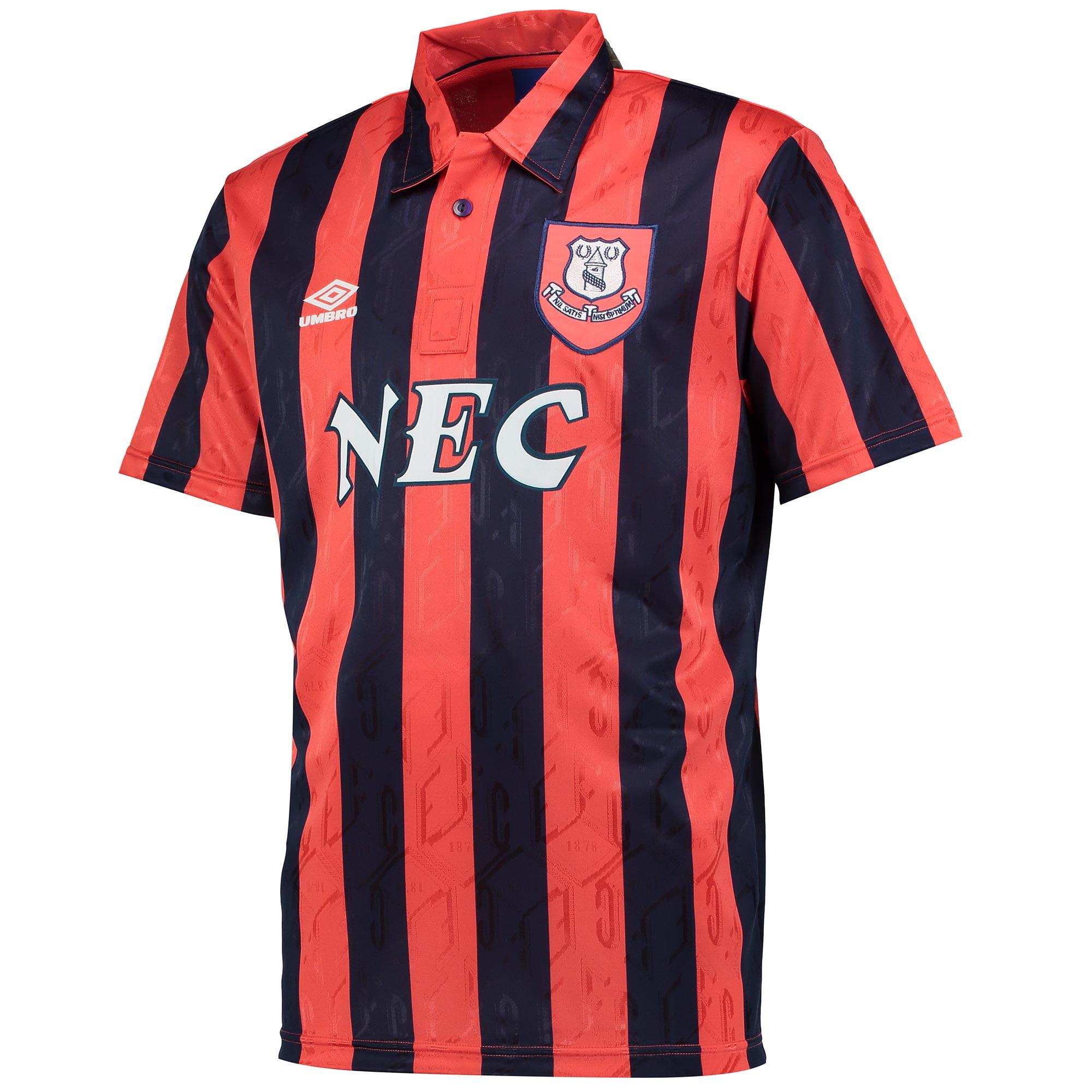 Image of Everton 1992 Away Shirt