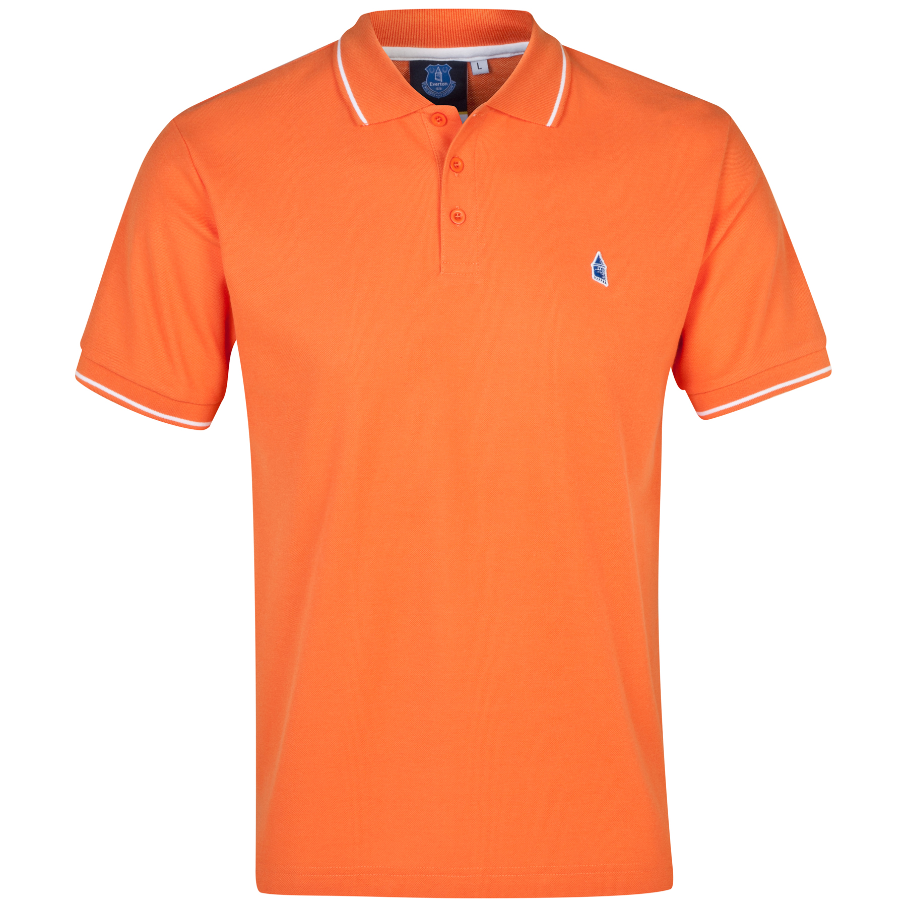 Everton Polo 2 for 30 - Orange - Mens