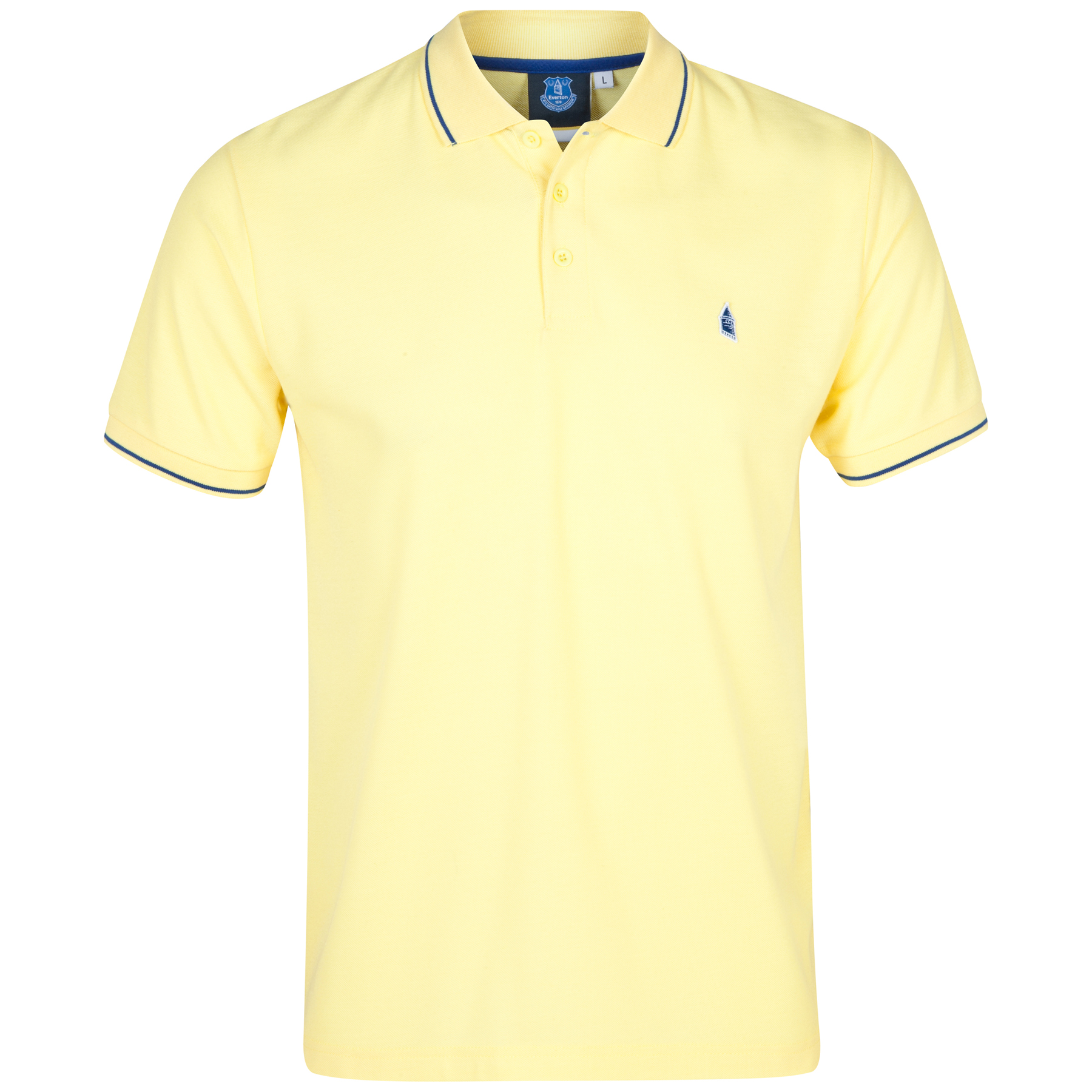 Everton Polo 2 for 30 - Yellow - Mens