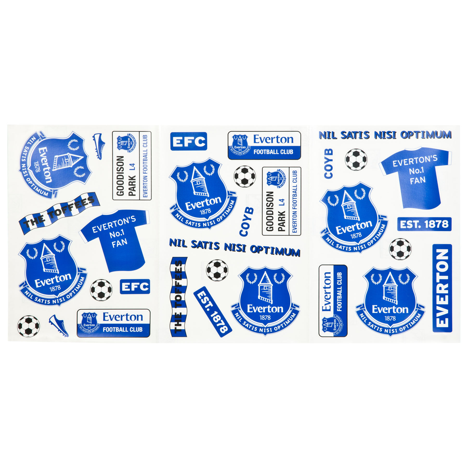 Everton Wall Stickers