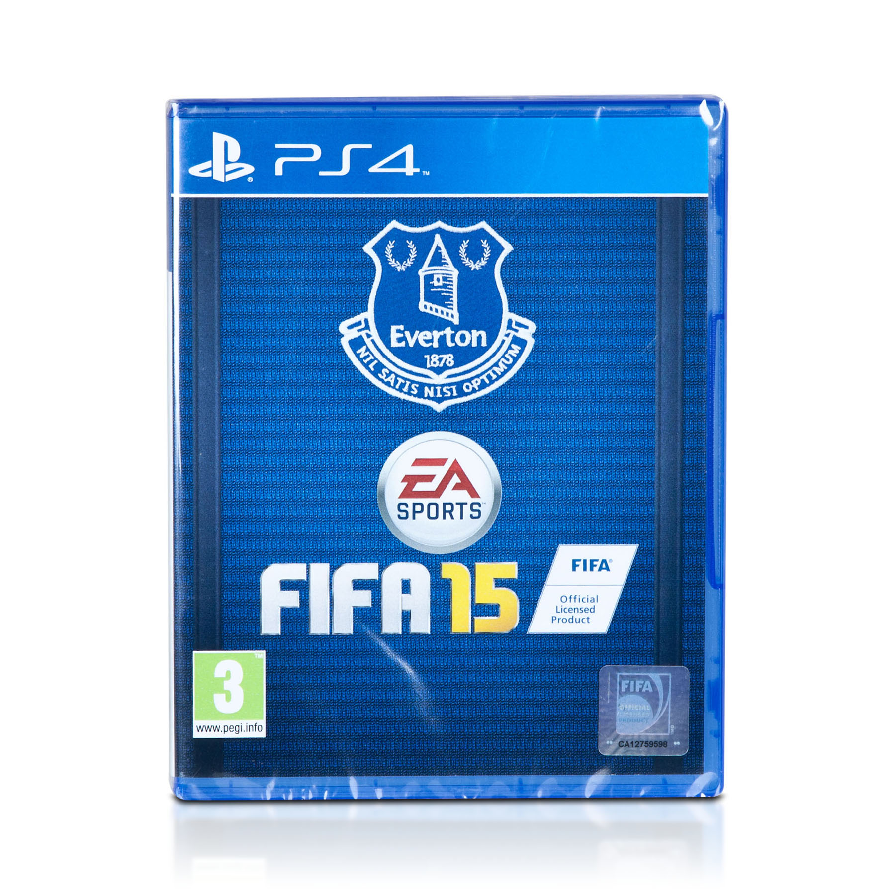 Everton Fifa 15 PS4 - Exclusive Cover