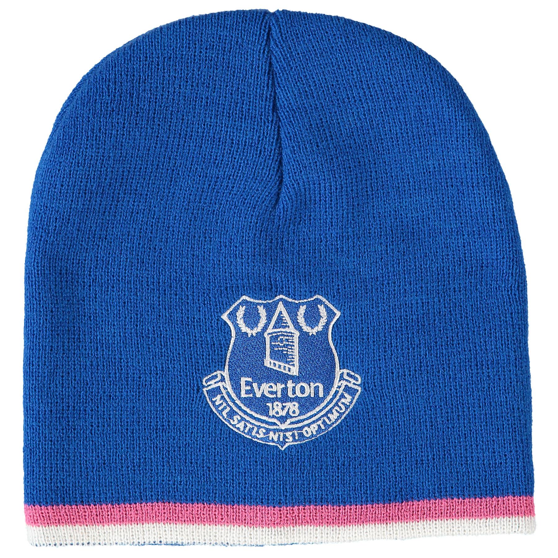 Everton Core Hat - Royal/Pink - Junior