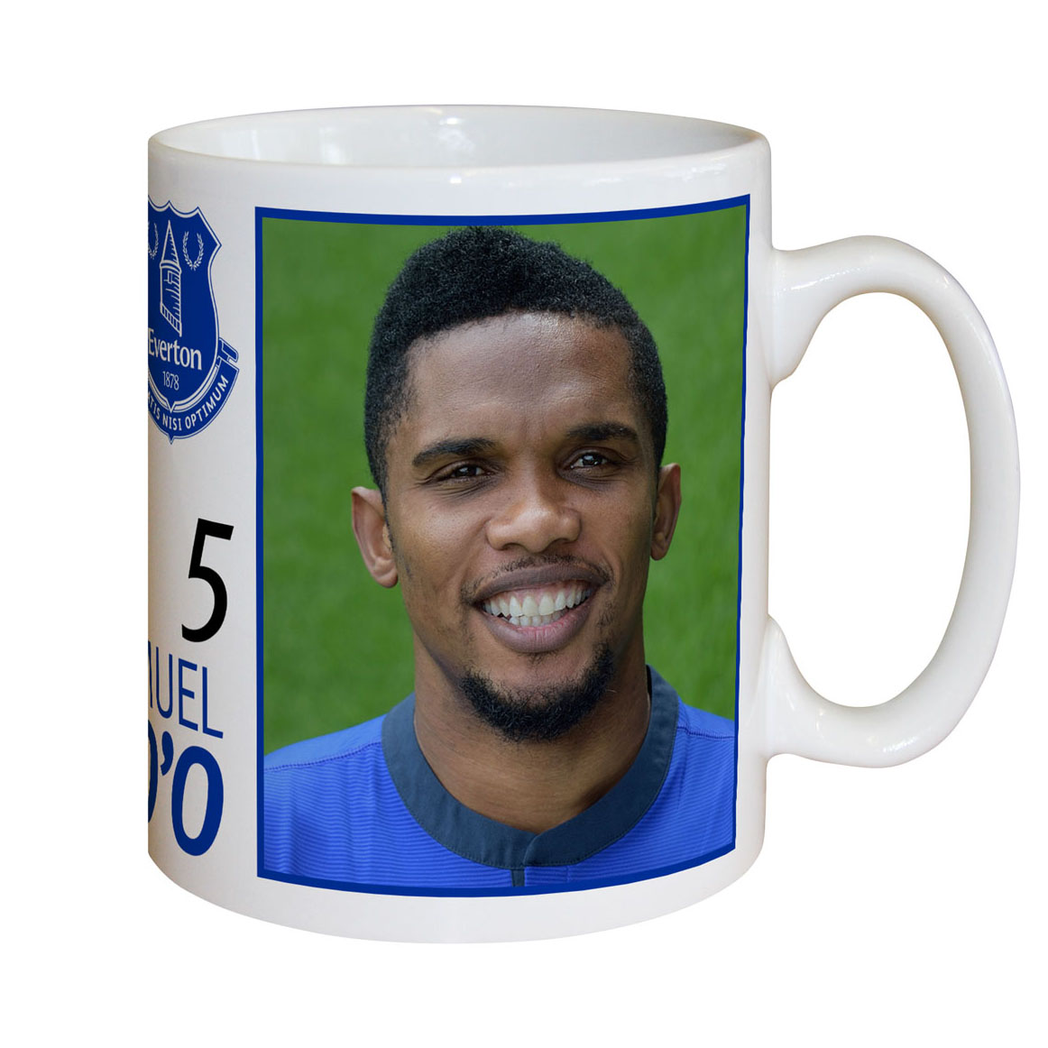 Everton Personalised Signature Mug - Eto`o