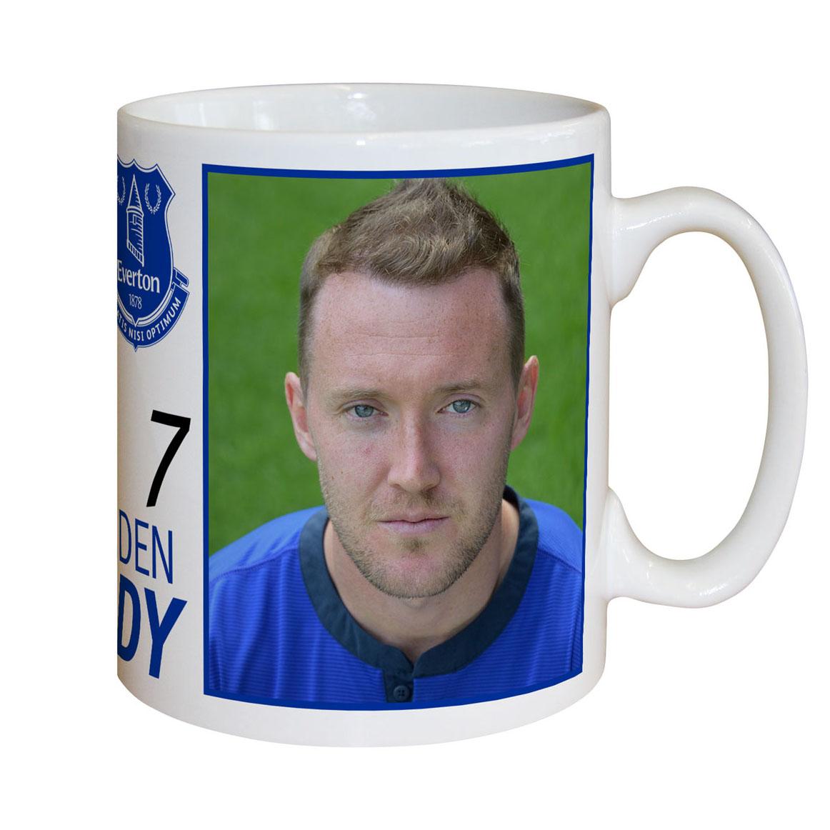 Everton Personalised Signature Mug - McGeady